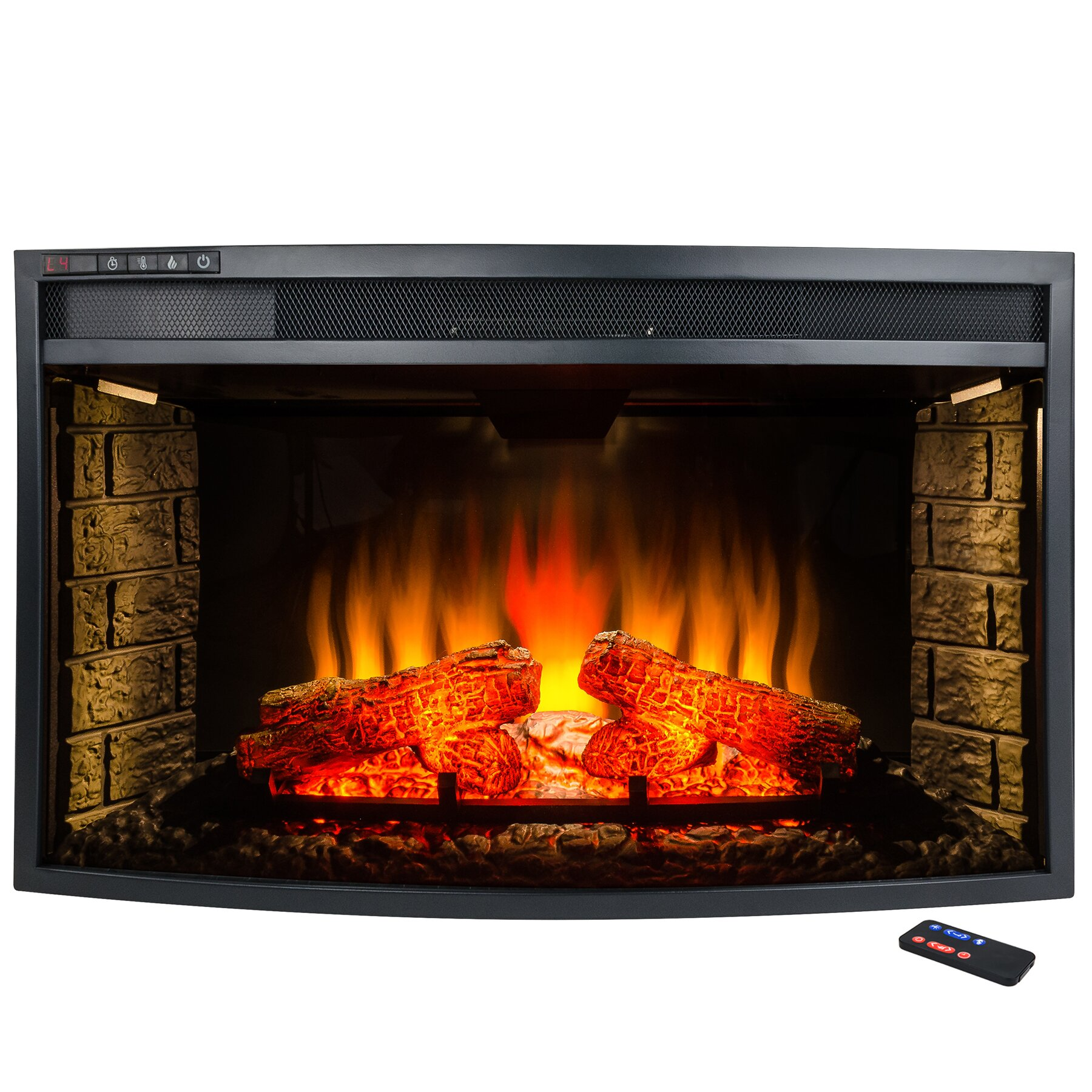 akdy freestanding electric fireplace insert reviews