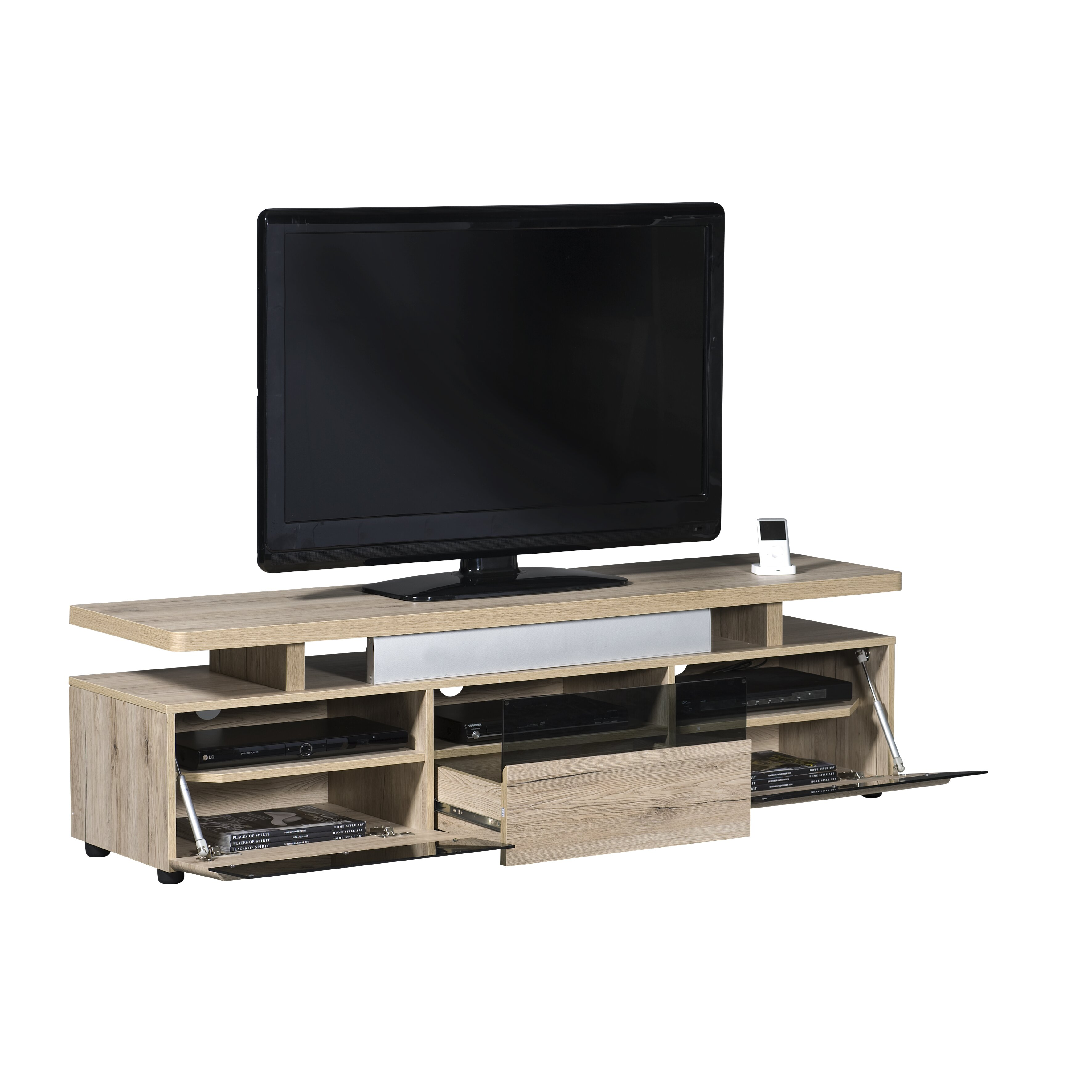 jahnke tv lowboard cuuba libre. Black Bedroom Furniture Sets. Home Design Ideas
