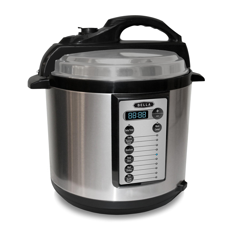 Pressure cooker bed bath beyond - Bella 6 Quart Pressure Cooker