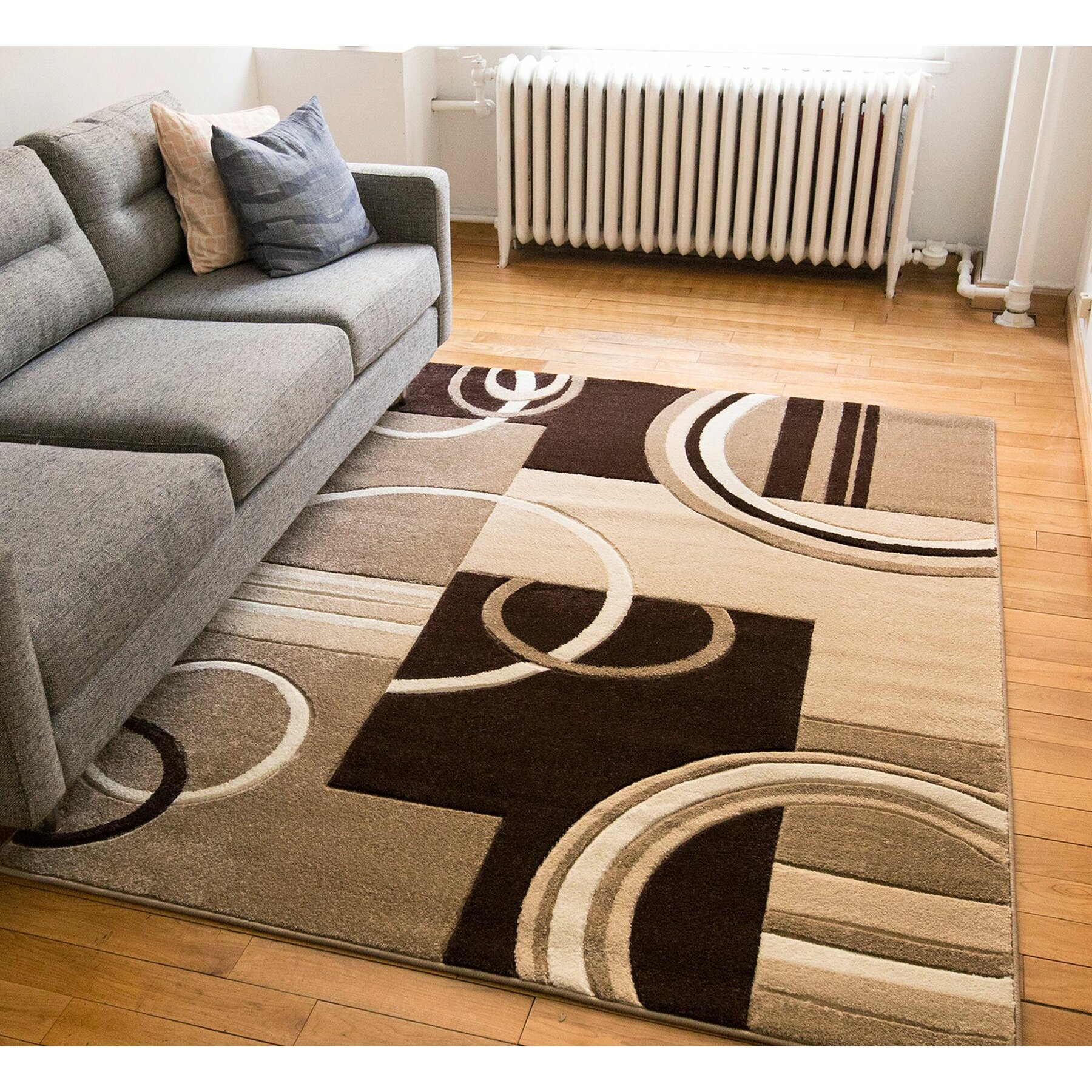 contemporary area rug  roselawnlutheran - well woven ruby galaxy waves contemporary area rug