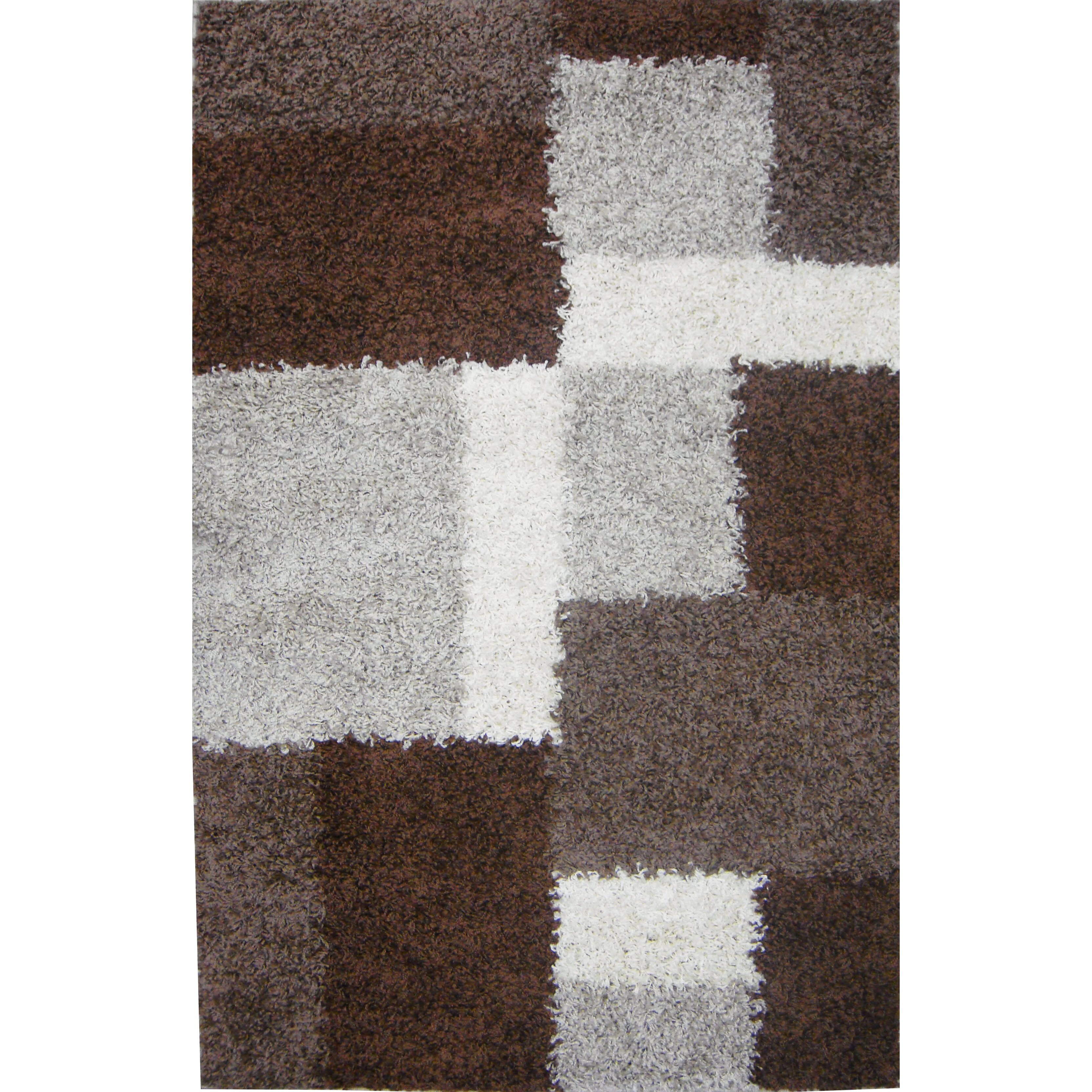 Navy Beige Hearth Rugs Fire Resistant Mat100