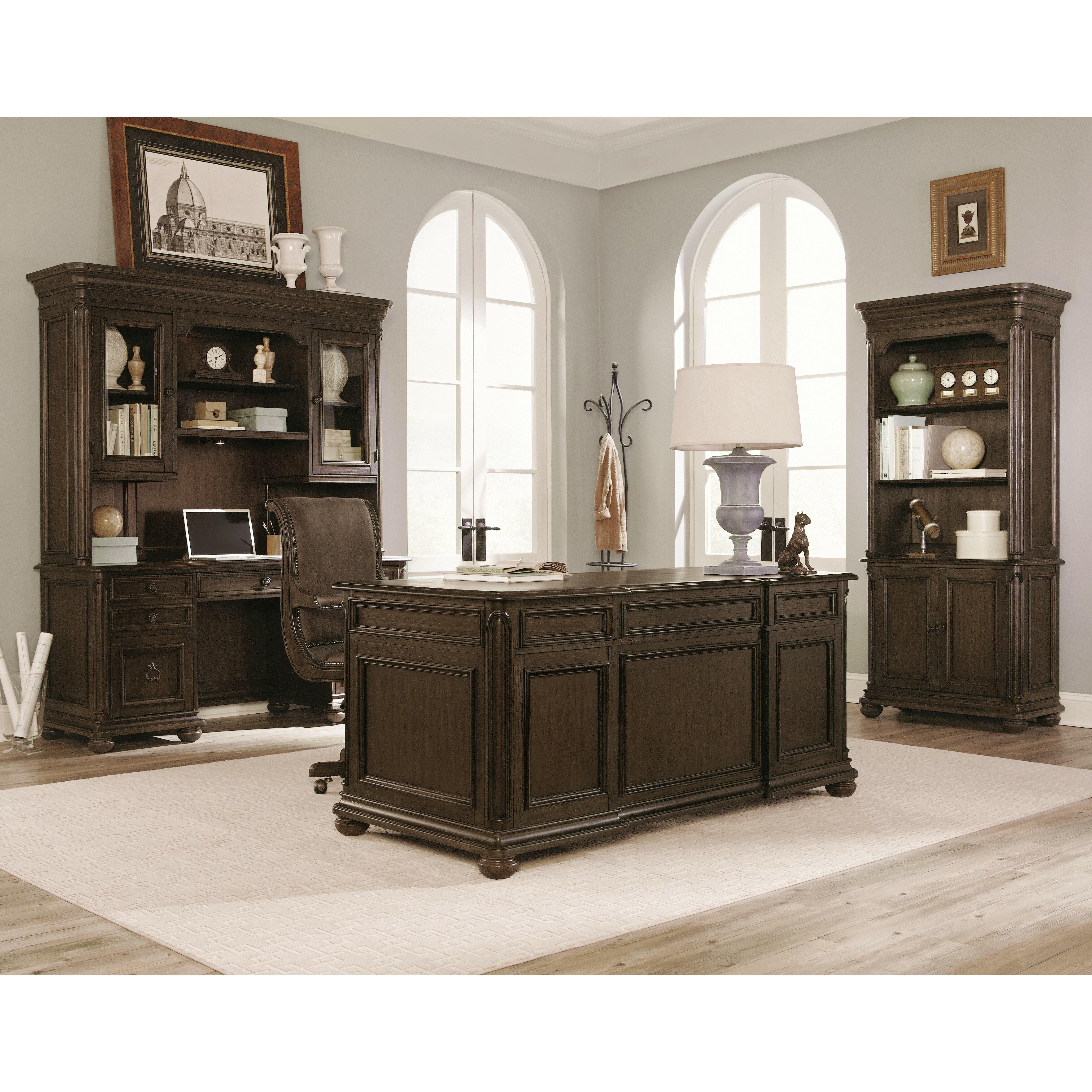 Magnussen Broughton Hall 5 Piece Standard Desk Office Suites