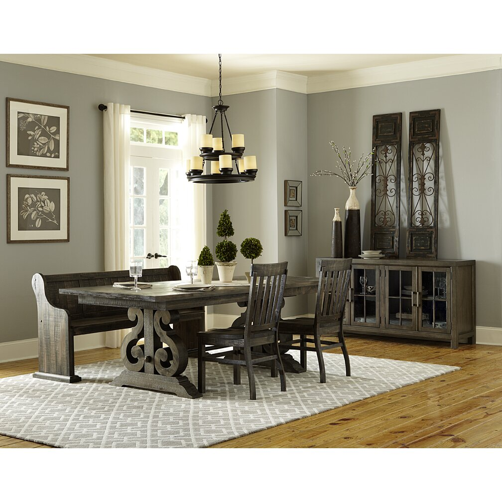 magnussen bellamy 4 piece dining set reviews wayfair
