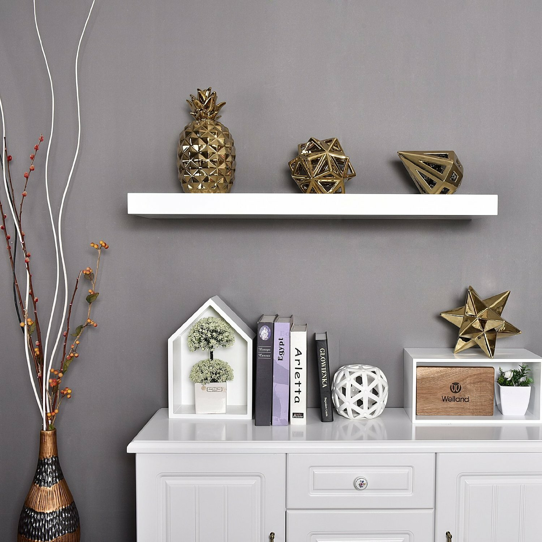 Wall Shelves Living Room Welland Industries Llc Chicago Floating Wall Shelf Reviews Wayfair