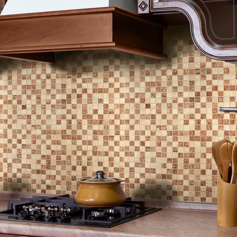 Instant Mosaic 12 X 12 Natural Stone Peel Amp Stick