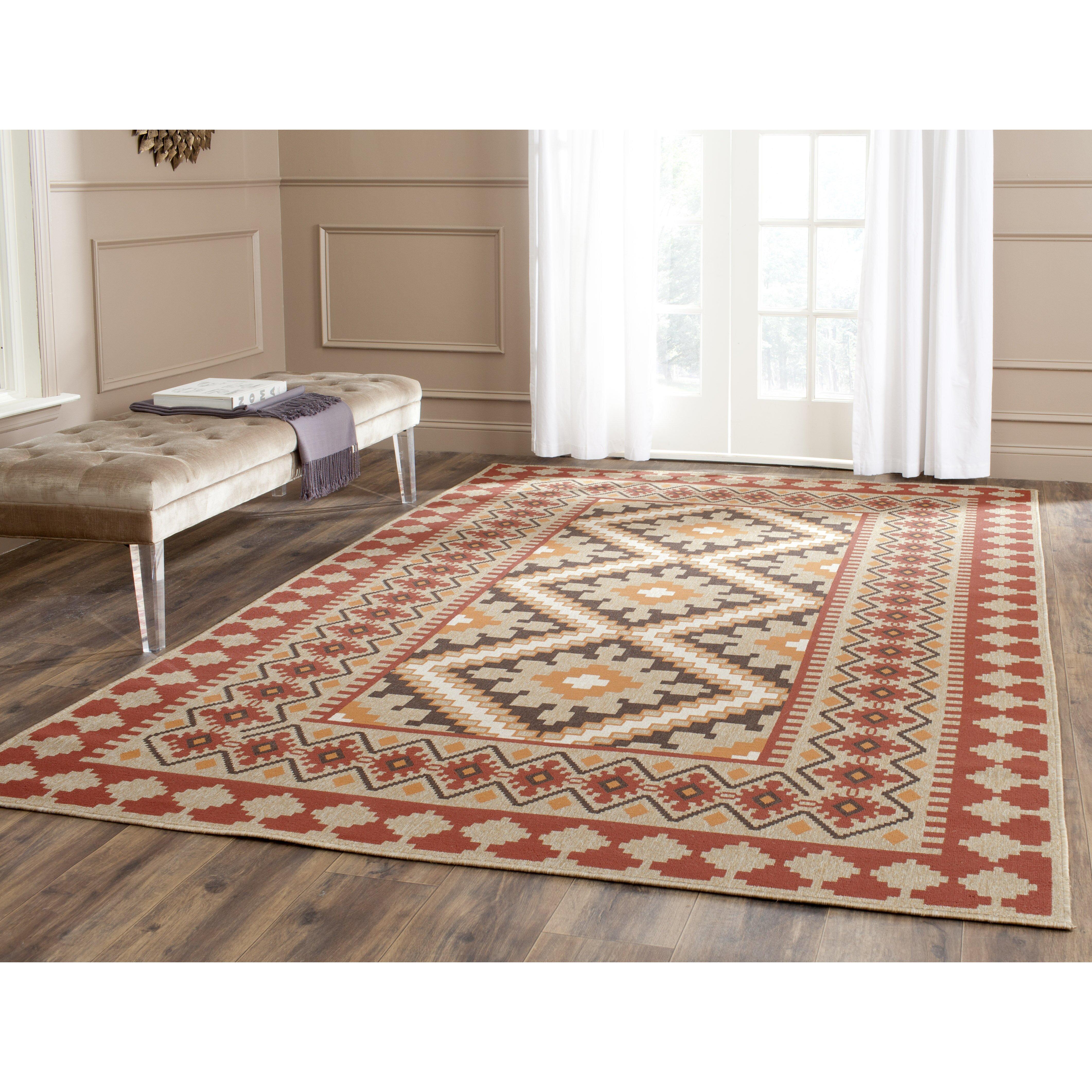 Alpenhome cowley multi coloured indoor outdoor area rug for Indoor outdoor rugs uk