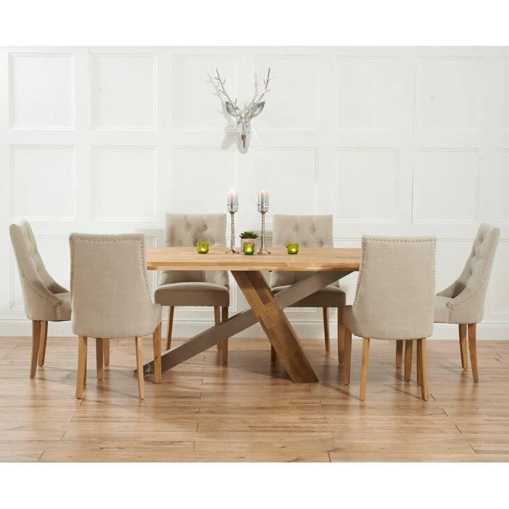 Home Etc Ohio Dining Table And 6 Chairs Reviews Wayfair Uk