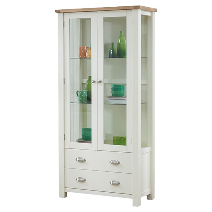 Home Etc Sandringham Wall Curio Cabinet