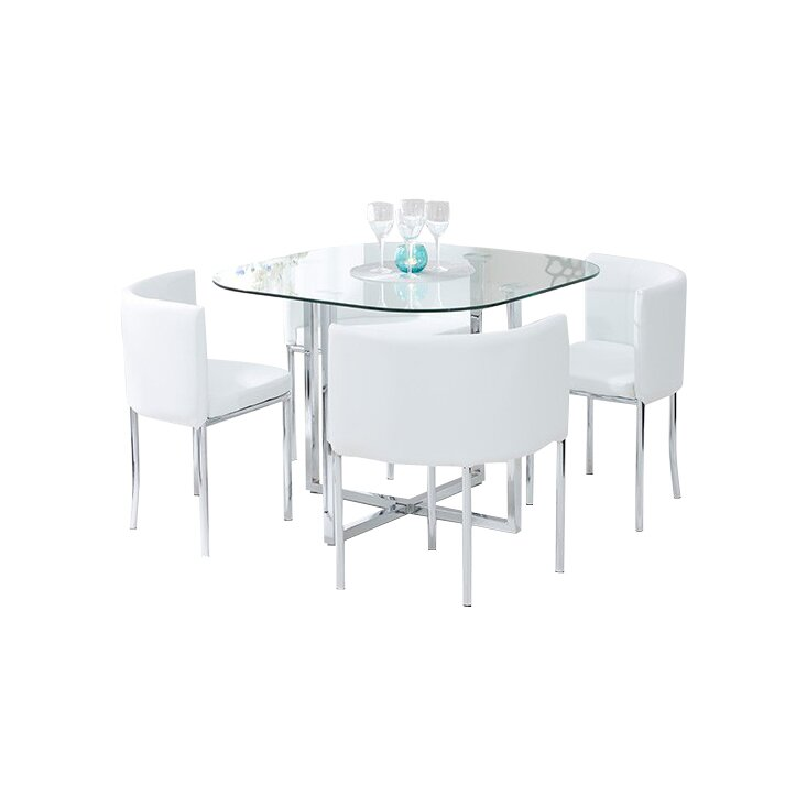 Home Etc Talbingo Dining Table and 4 Chairs amp Reviews  : Talbingo2BStowaway2BDining2BTable2Band2B42BChairs from www.wayfair.co.uk size 733 x 733 jpeg 31kB