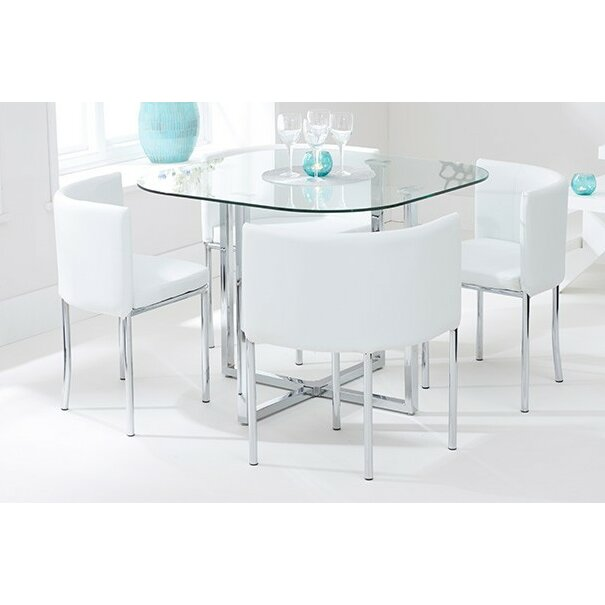 Home Etc Talbingo Dining Table And 4 Chairs Reviews Wayfair Uk