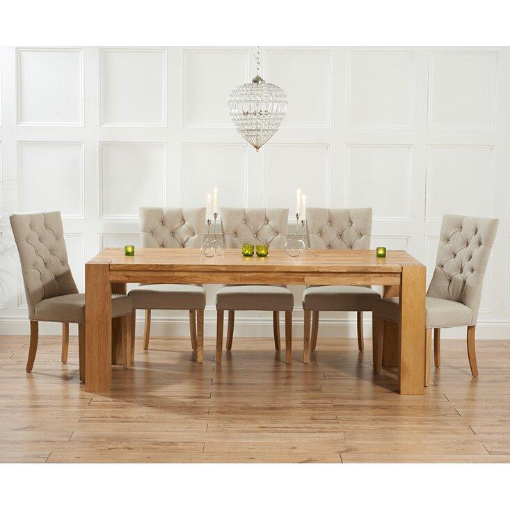 home etc essgruppe murcia mit ausziehbarem tisch und 8 st hlen. Black Bedroom Furniture Sets. Home Design Ideas