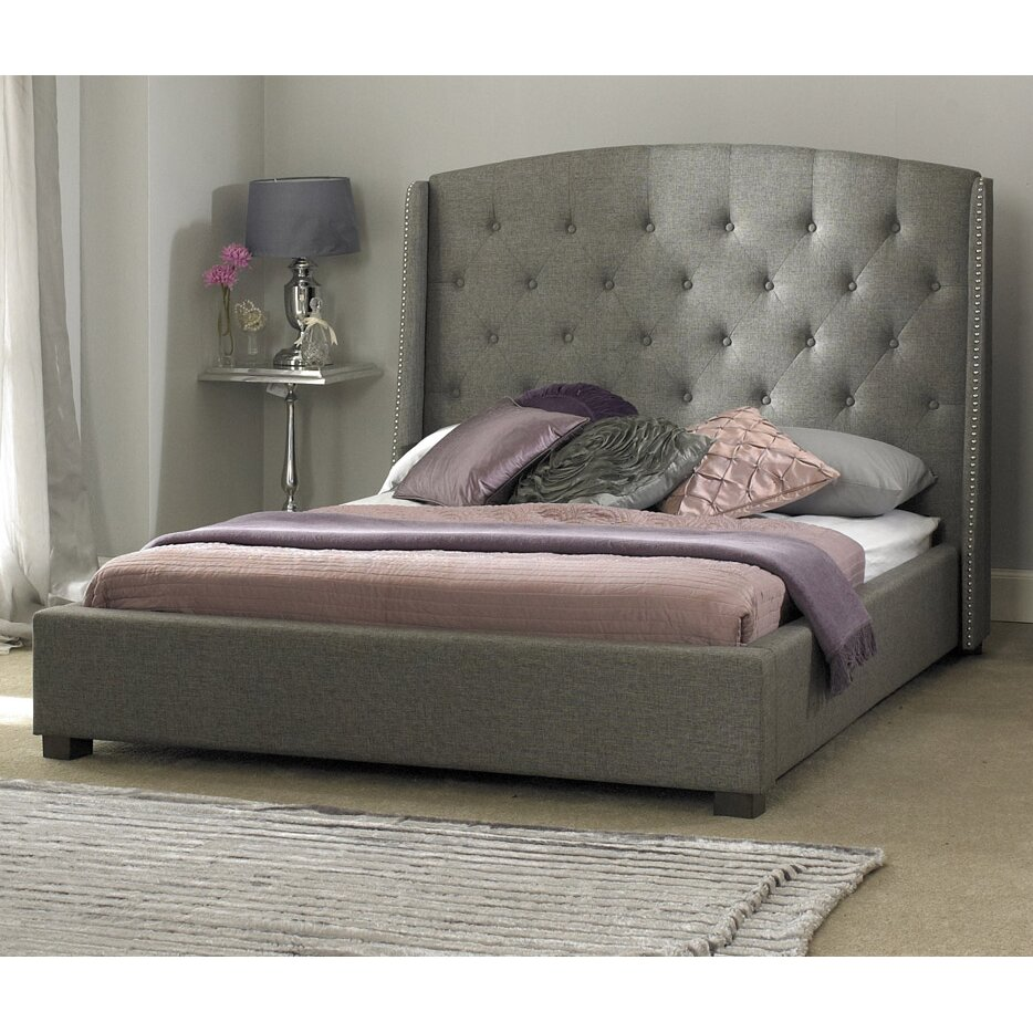 house additions robert upholstered bed frame