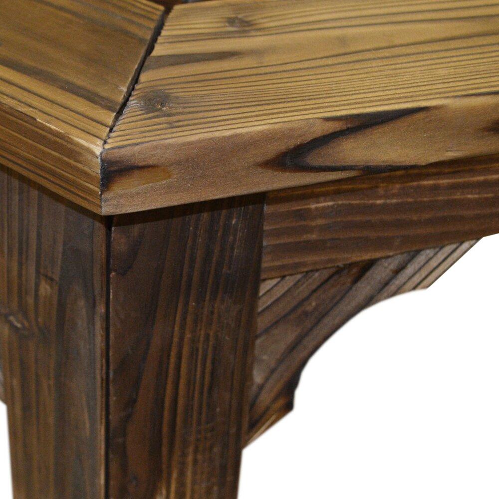 house additions halbrunde baumbank aus holz bewertungen. Black Bedroom Furniture Sets. Home Design Ideas