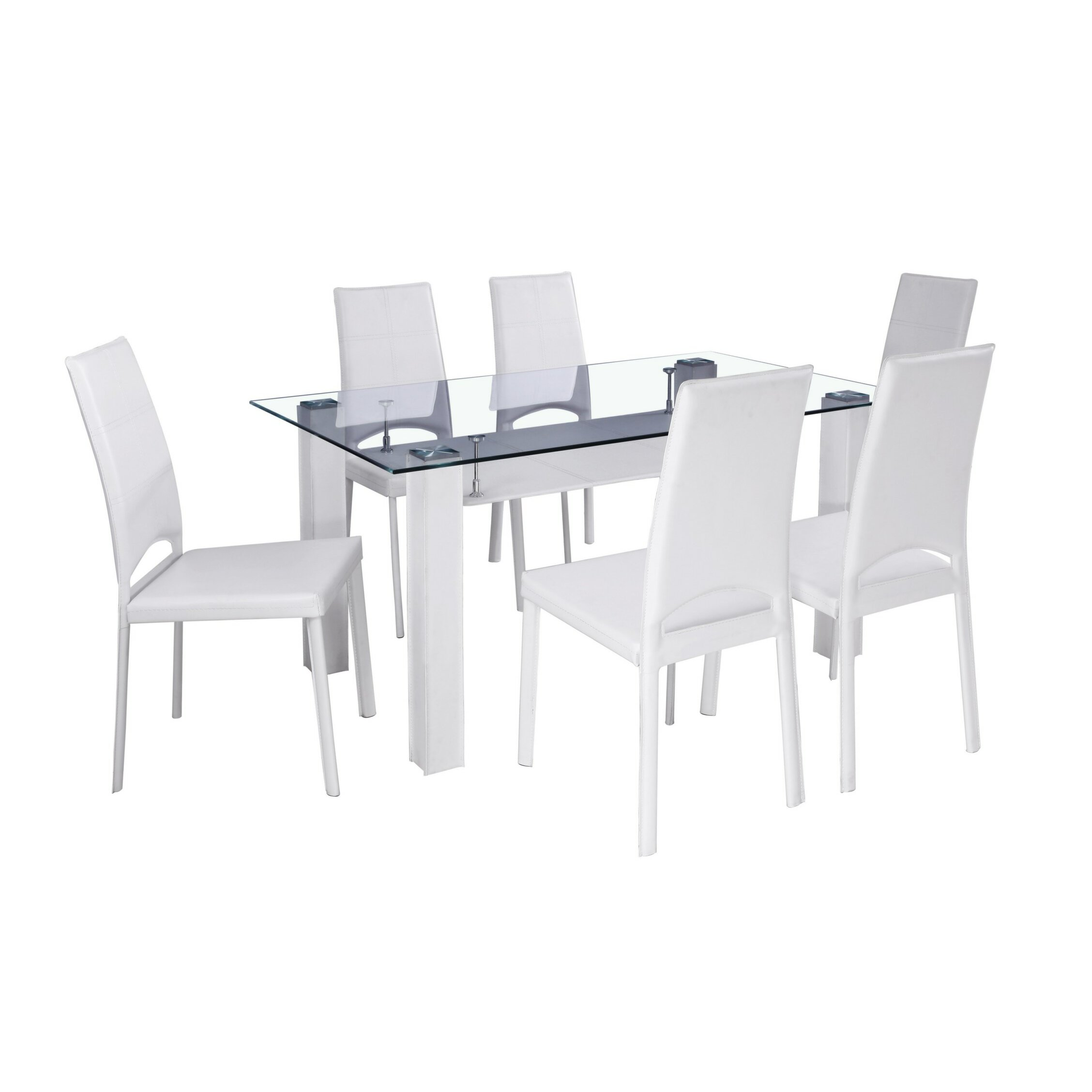 Home Haus Rousey Dining Table And 6 Chairs Reviews