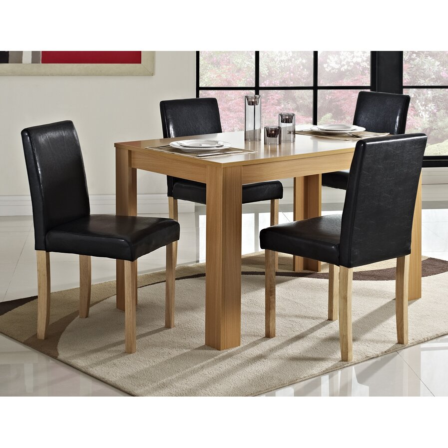 Home Haus Addison Dining Table And 4 Chairs Reviews
