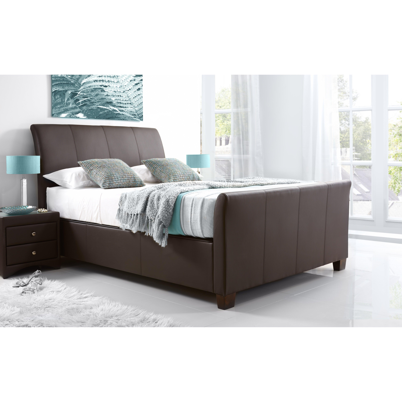 Ottoman For Bedroom Home Haus Upholstered Ottoman Bed Frame Reviews Wayfaircouk