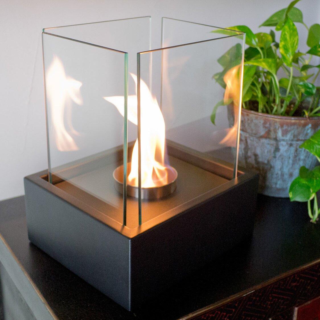 Nu-Flame Lampada Bio-Ethanol Tabletop Fireplace - Nu-Flame Lampada Bio-Ethanol Tabletop Fireplace & Reviews Wayfair