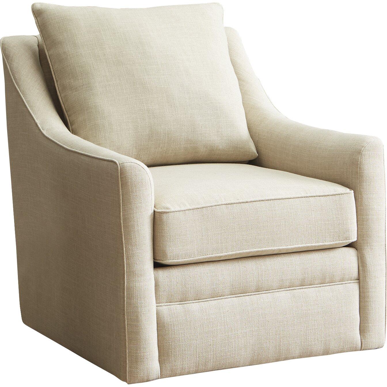 Wayfair All Modern: AllModern Custom Upholstery Quincy Swivel Chair & Reviews