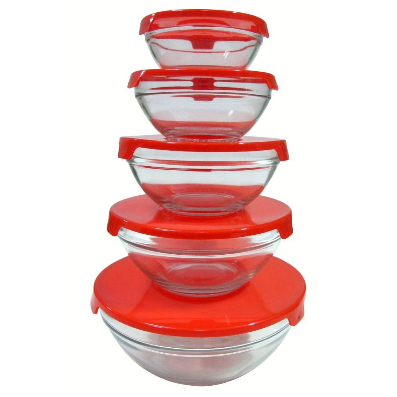 alpine cuisine 10 piece nested glass bowl set reviews