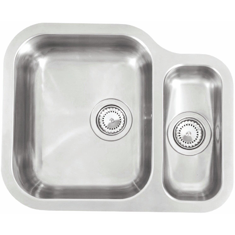 Kitchen Sink Outlet: Reginox 57cm X 47cm Undermount Kitchen Sink With Waste