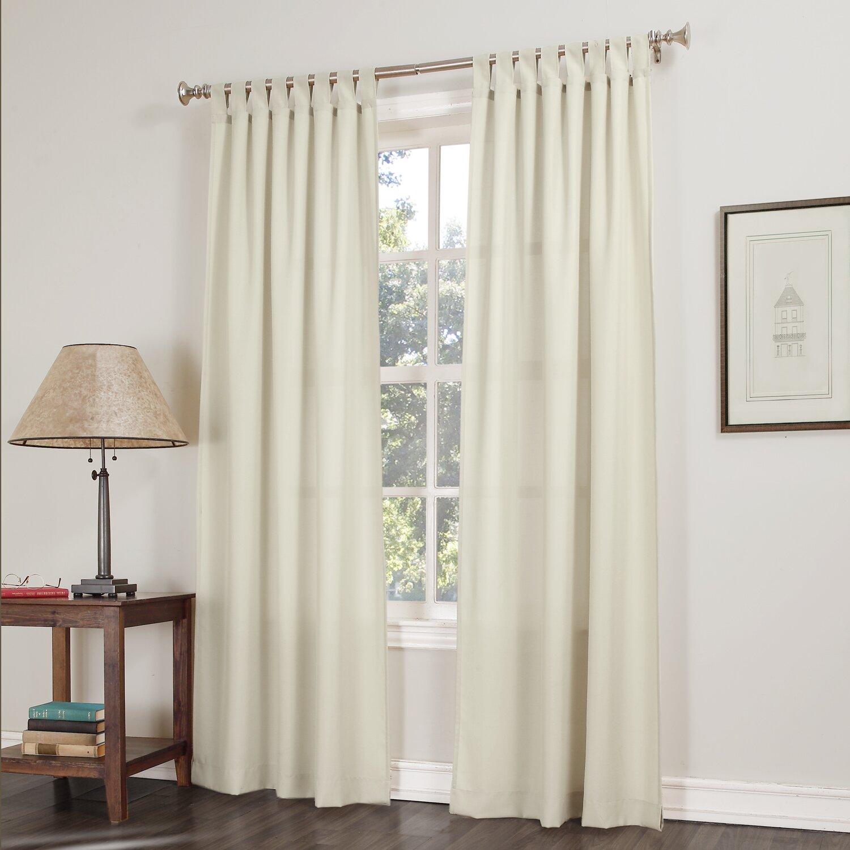 No. 918 Kelvin Tab Top Single Curtain Panel & Reviews