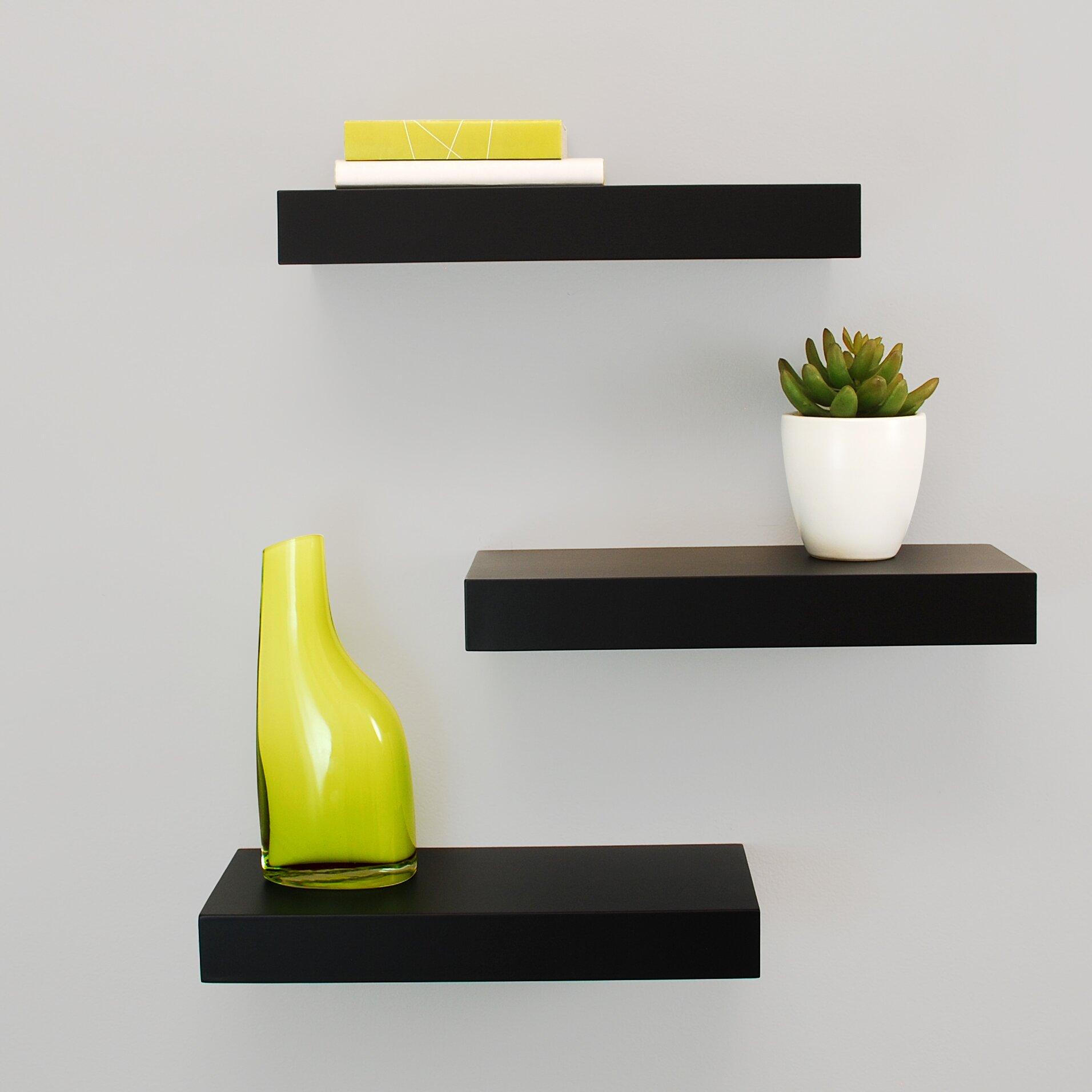 Nexxt Design Maine Floating Wall Shelf Reviews Wayfair