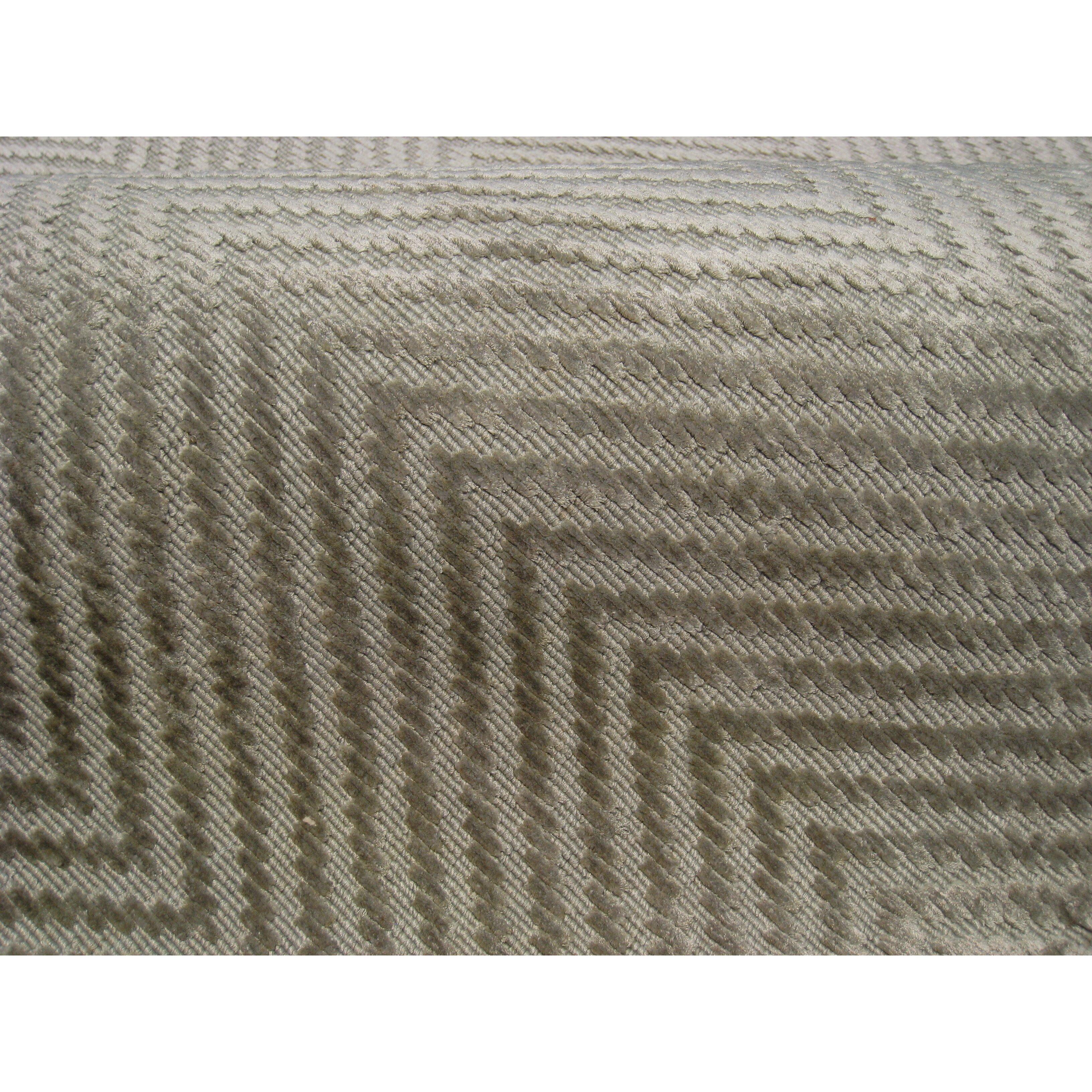 Gray Herringbone Rug Home Decor