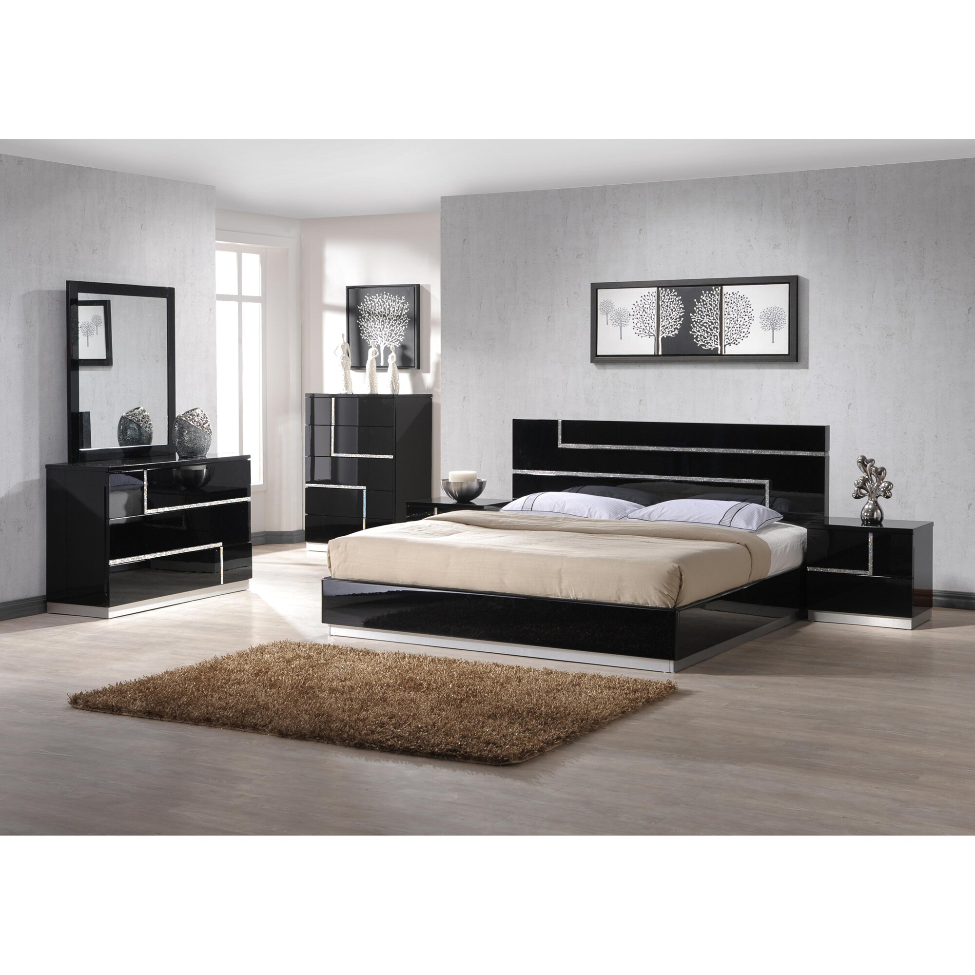 Black and red bedroom furniture - Charming Pictures Of Red Bedrooms 9 Black Ed Furniture Your Home