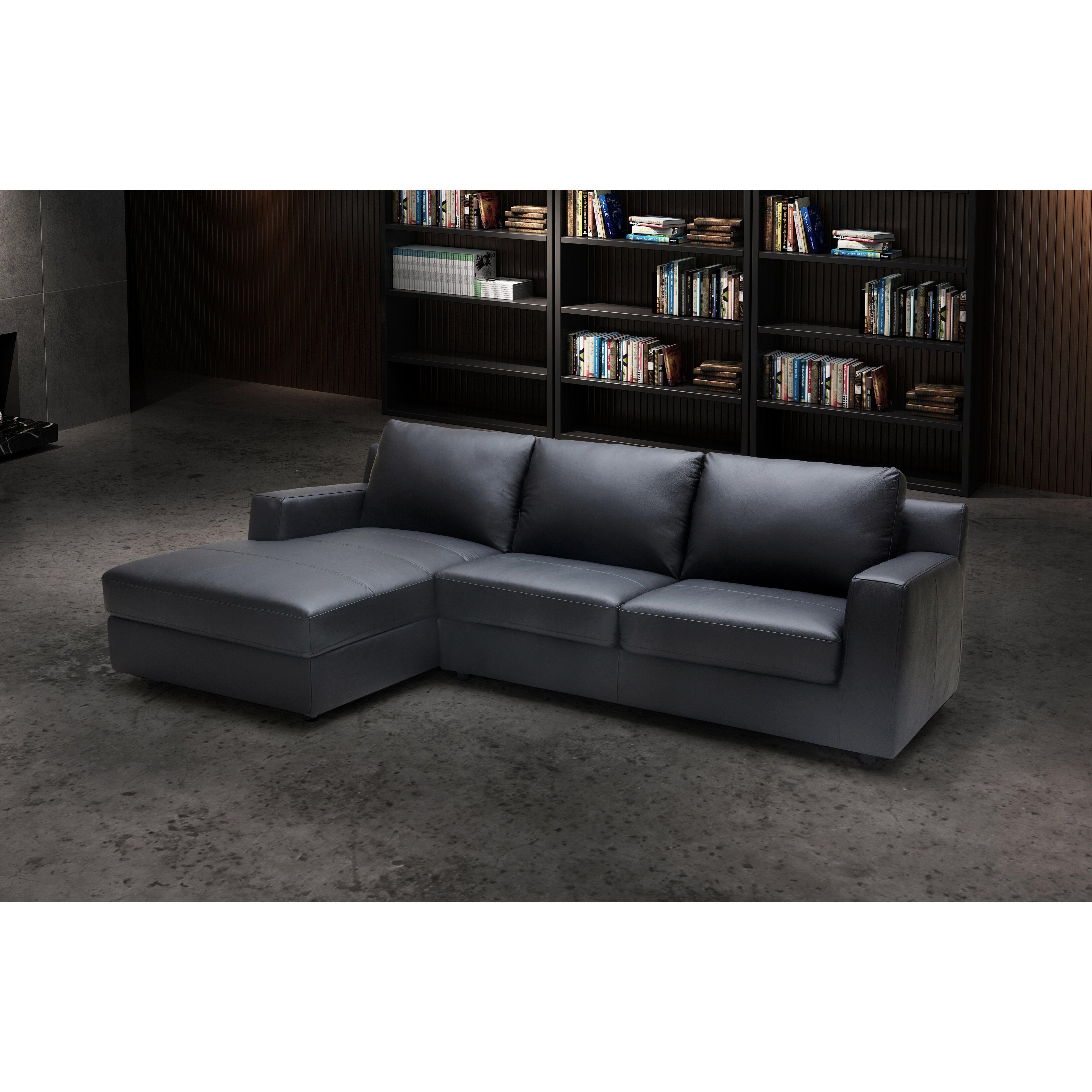 J M Furniture Sleeper Sectional Reviews Wayfair