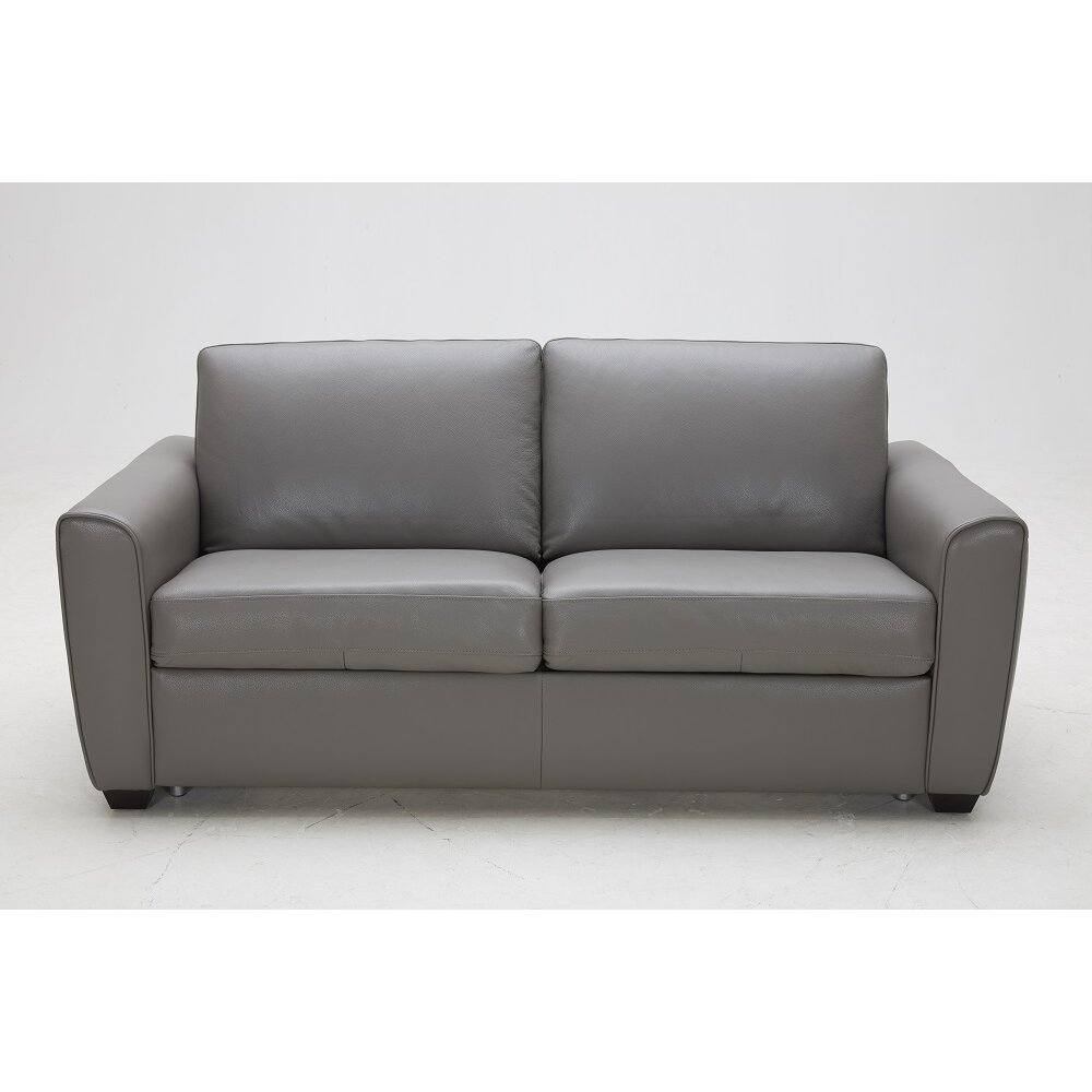 J M Furniture Jasper Leather Sofa Reviews