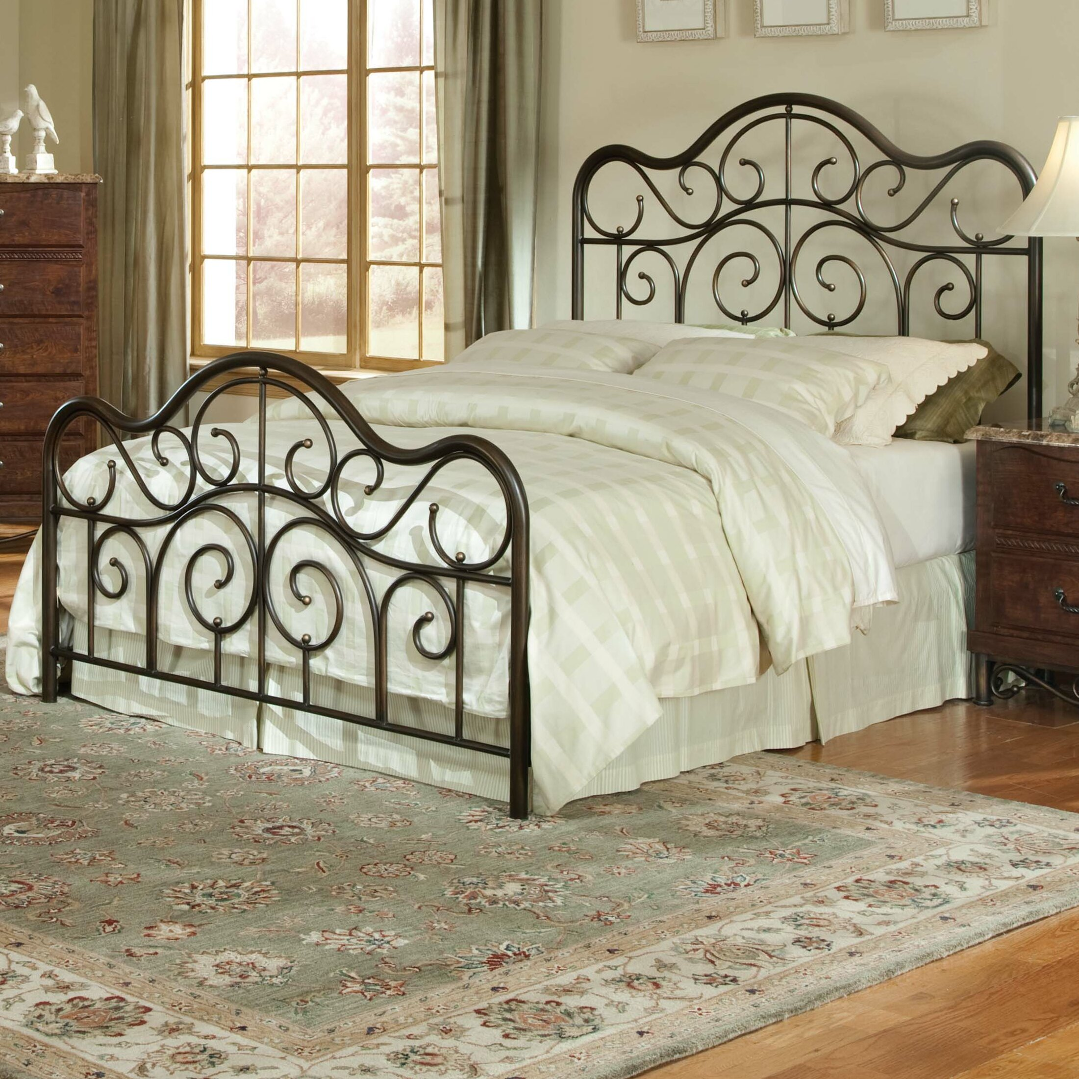 Santa Cruz Bedroom Furniture Standard Furniture Santa Cruz Panel Bed Reviews Wayfair