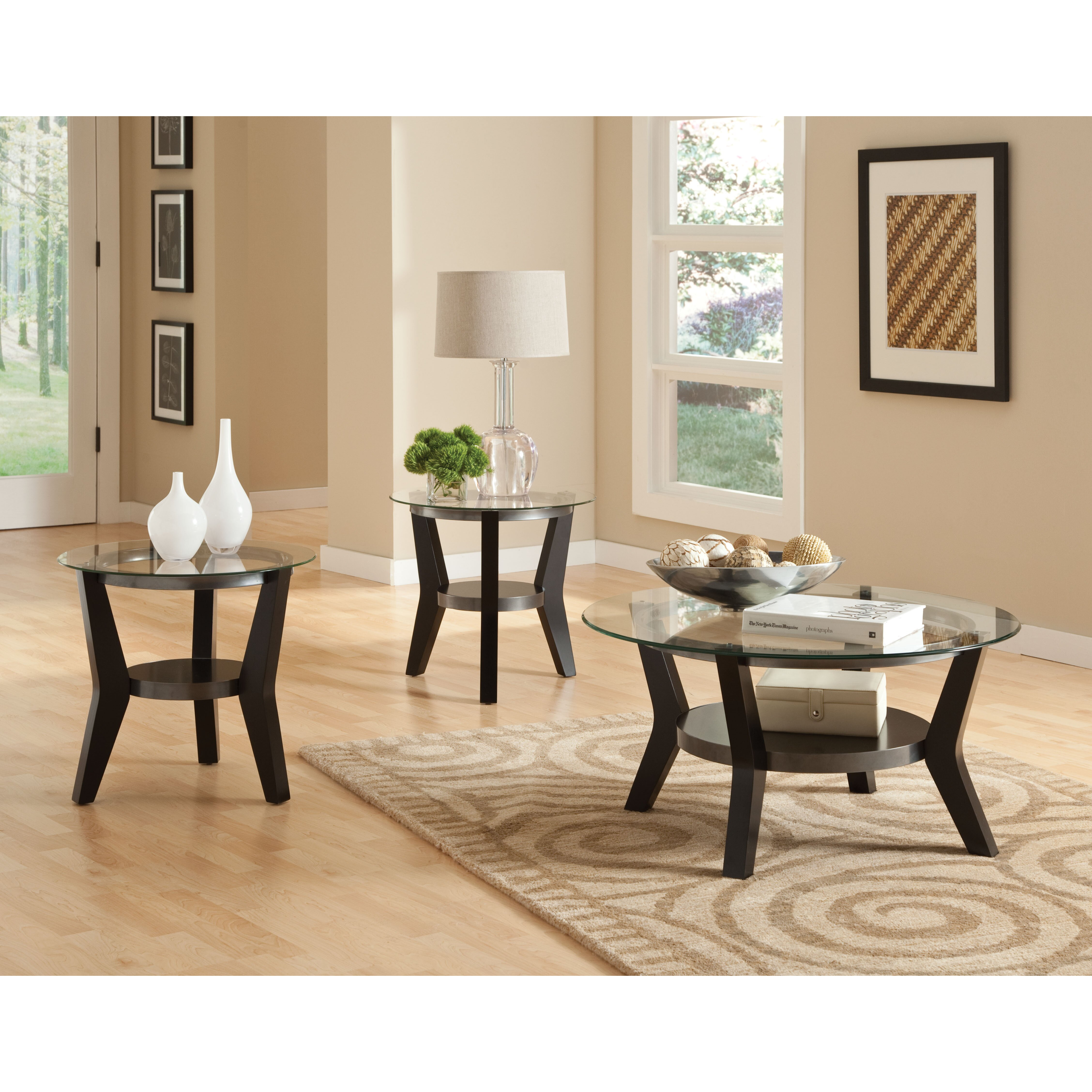 3 Piece Living Room Table Set Standard Furniture Orbit 3 Piece Coffee Table Set Reviews Wayfair