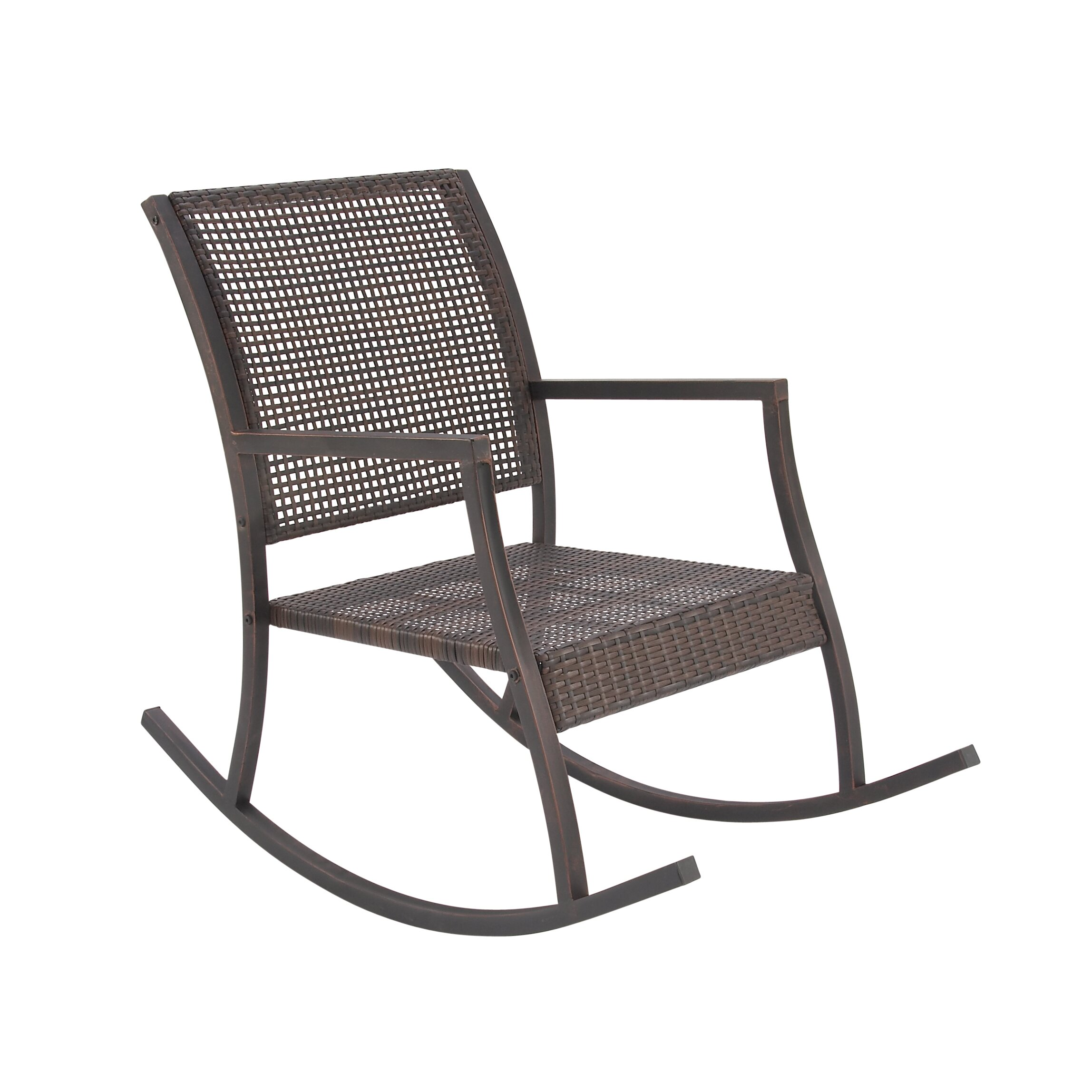 Furniture Living Room Furniture ... Metal Rocking Chairs Cole & Grey ...