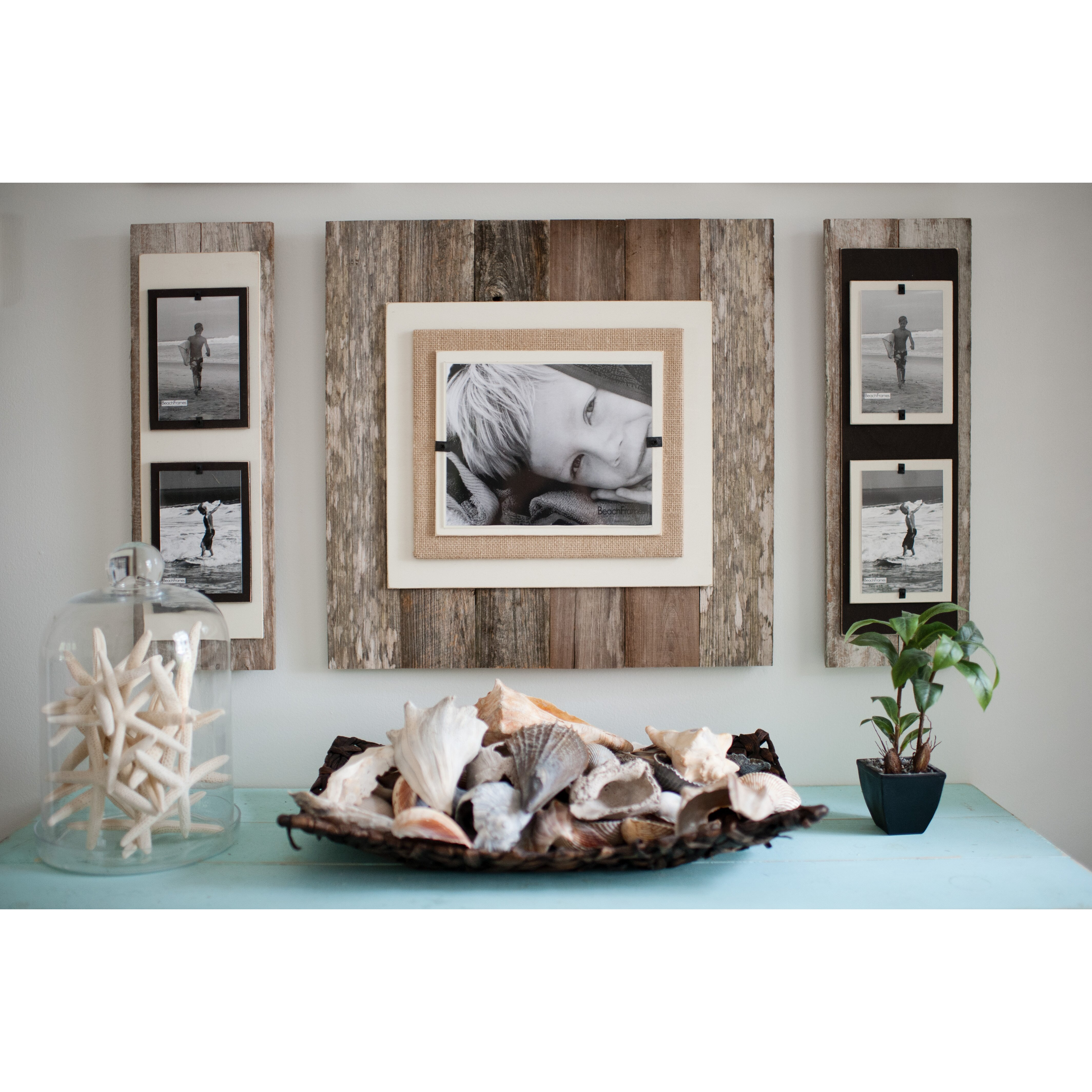 beach frames double picture frame