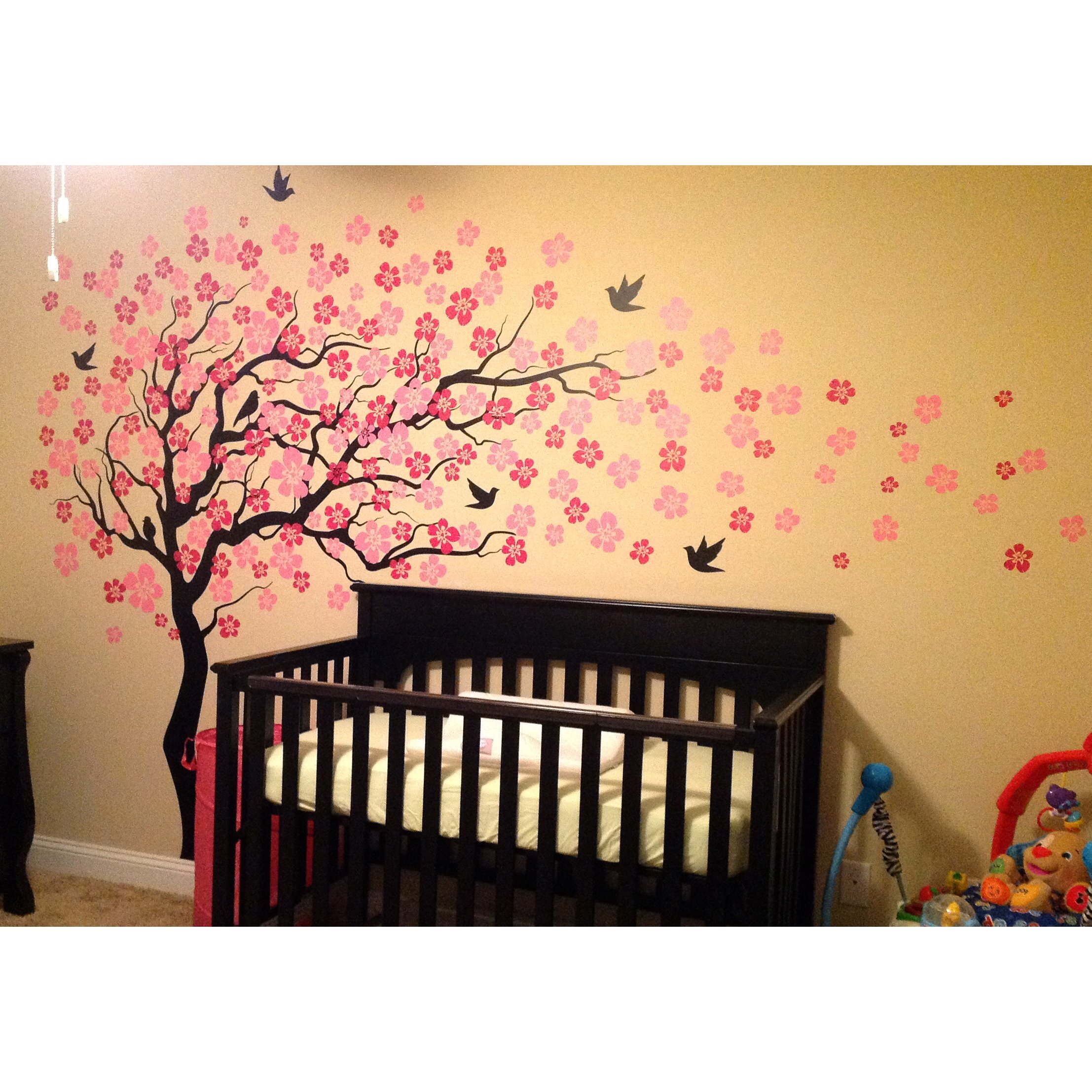 Cherry Blossom Tree Wall Decal Roselawnlutheran - Custom vinyl wall decals cherry blossom tree