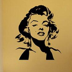 pop decors marilyn monroe wall mural wayfair marilyn monroe wall art vinyl transfer sticker decal mural