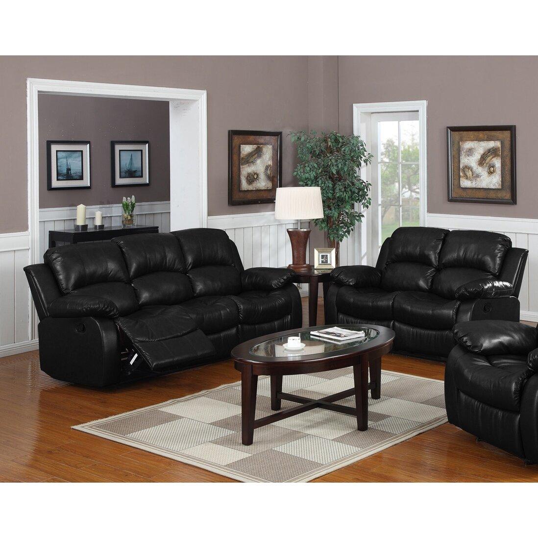 Magnolia home montclair 2 piece reclining living room set for 2 piece living room set