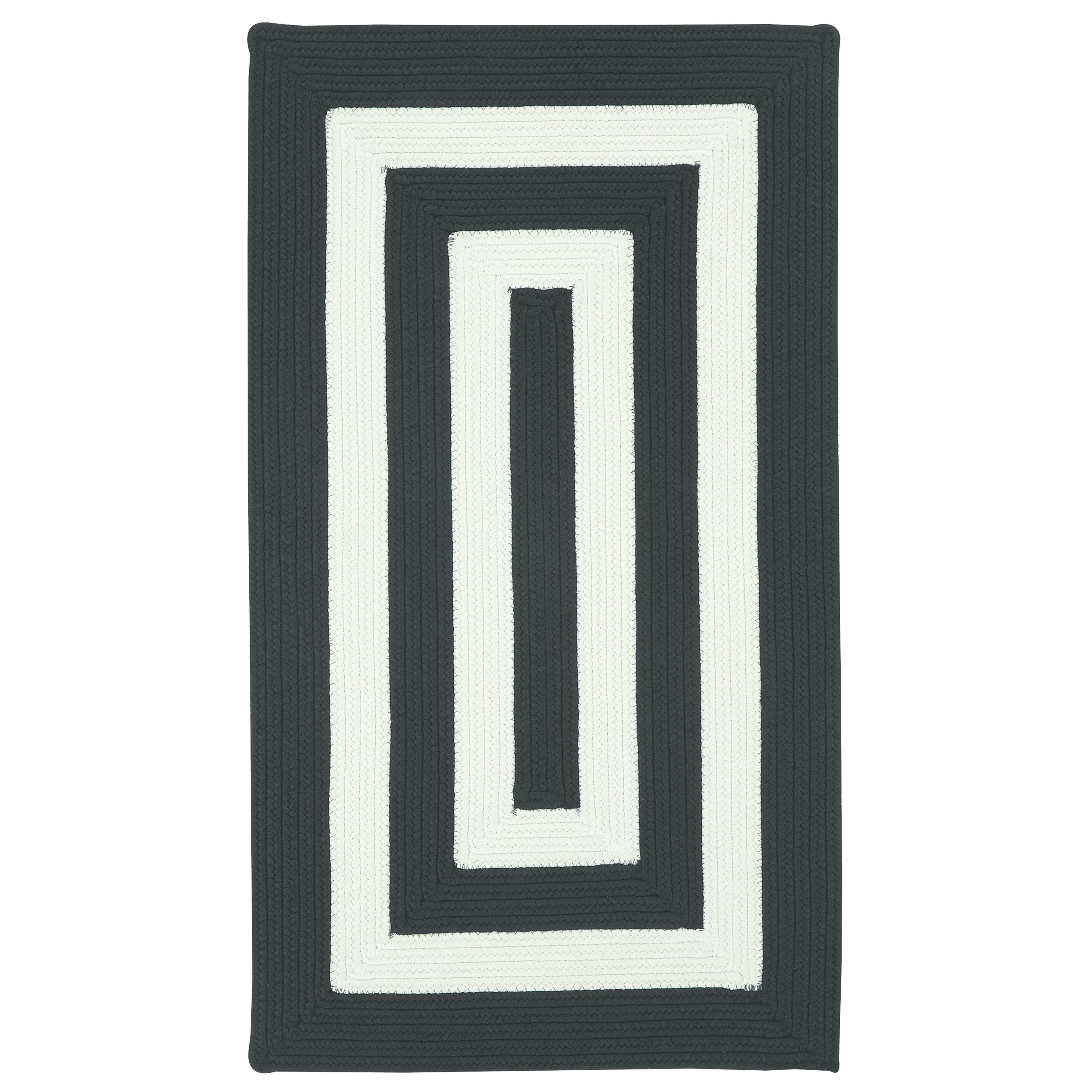 capel willoughby black white striped outdoor area rug
