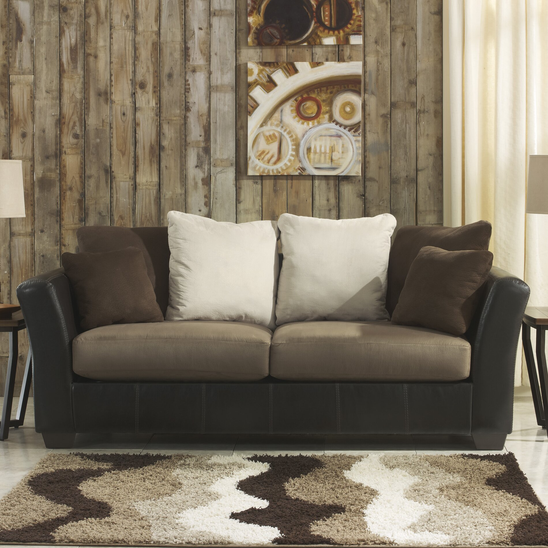 benchcraft sectional reviews benchcraft larwill sofa amp reviews wayfair 1583