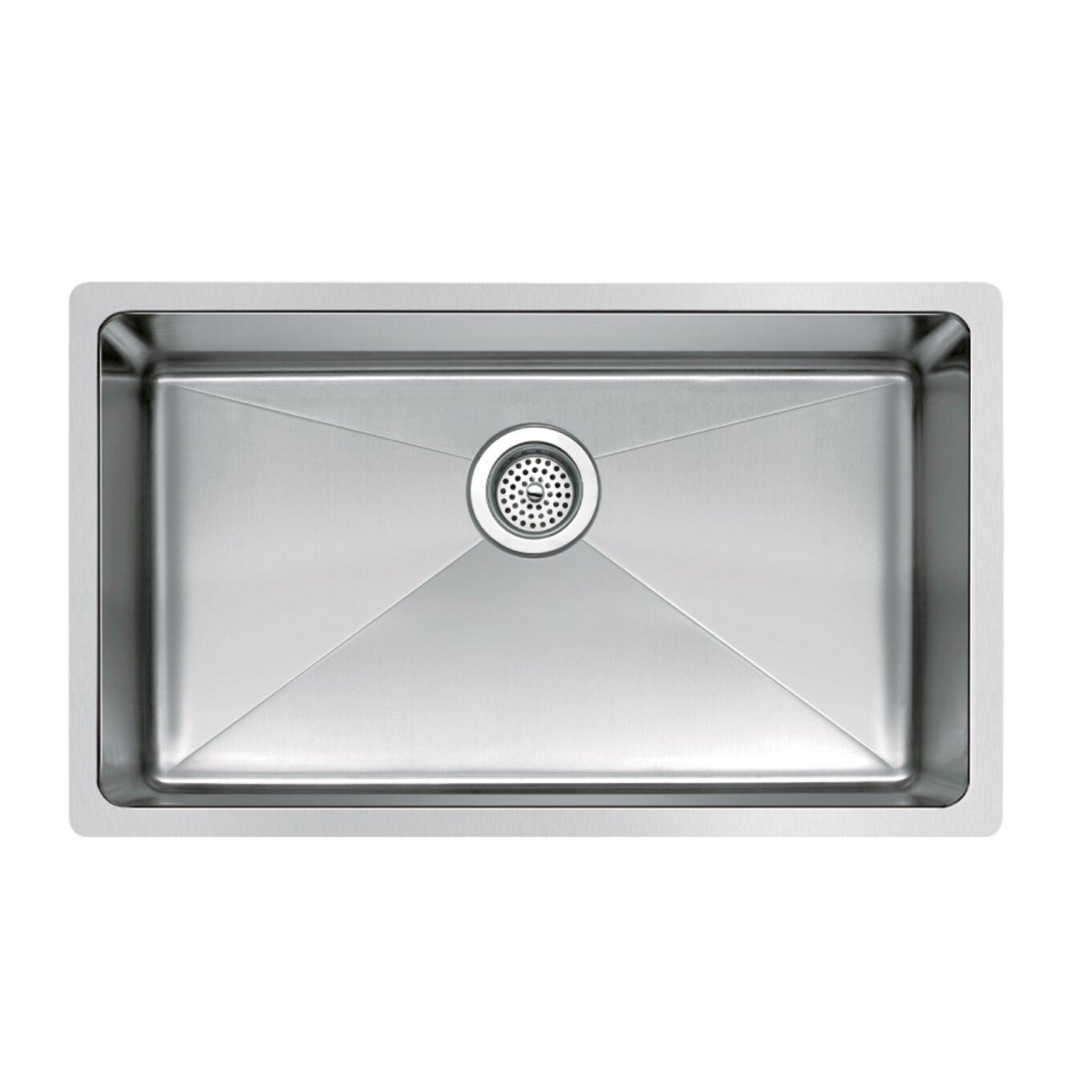 dCOR design Brier Single Bowl Kitchen Sink DCRN single bowl kitchen sink dCOR design Brier Single Bowl Kitchen Sink