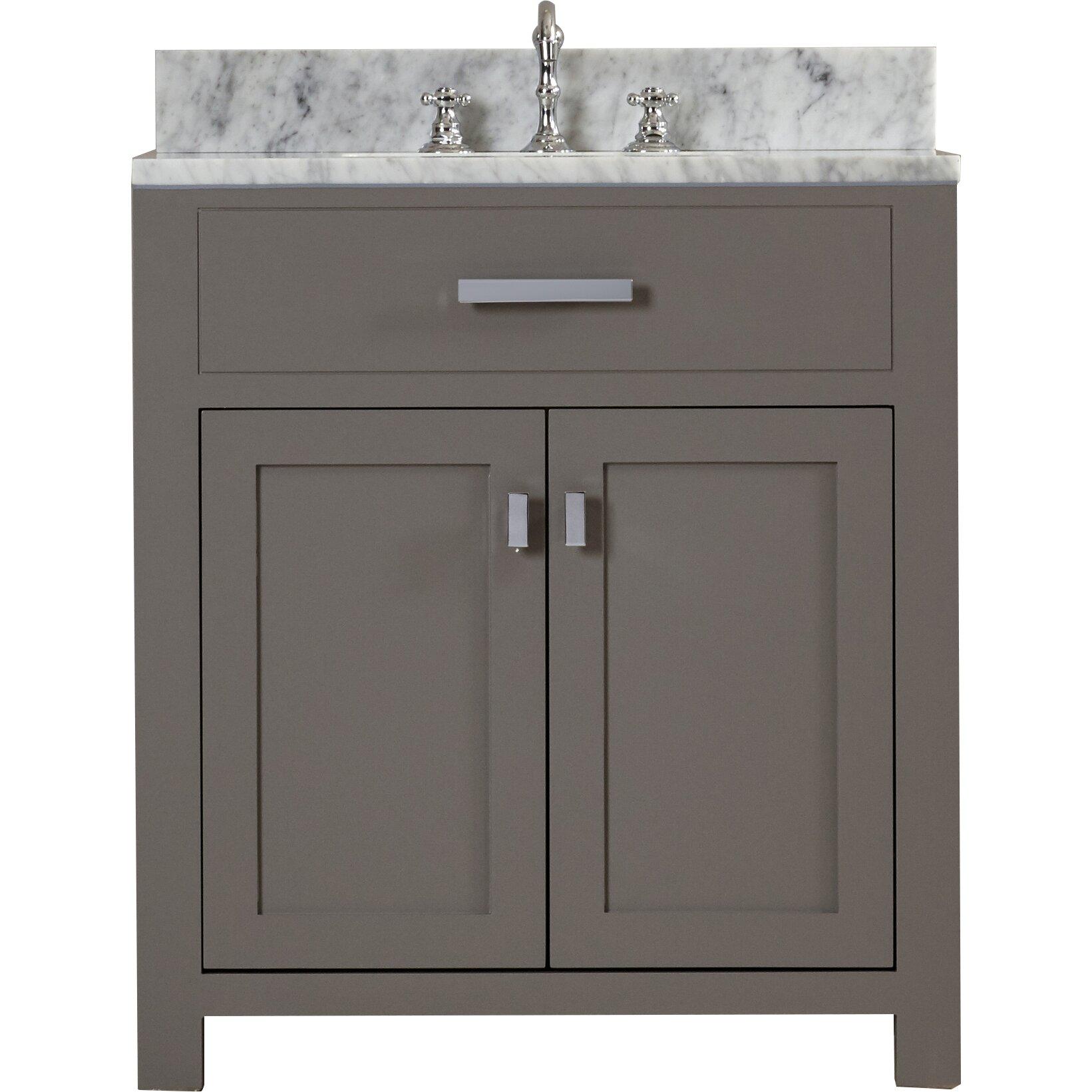 Design Bathroom Cabinets Dcor Design Creighton 30 Single Sink Bathroom Vanity Set