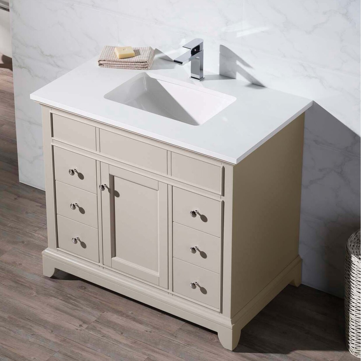 dcor design dyer  single bathroom vanity set  wayfair - dcor design dyer quot single bathroom vanity set