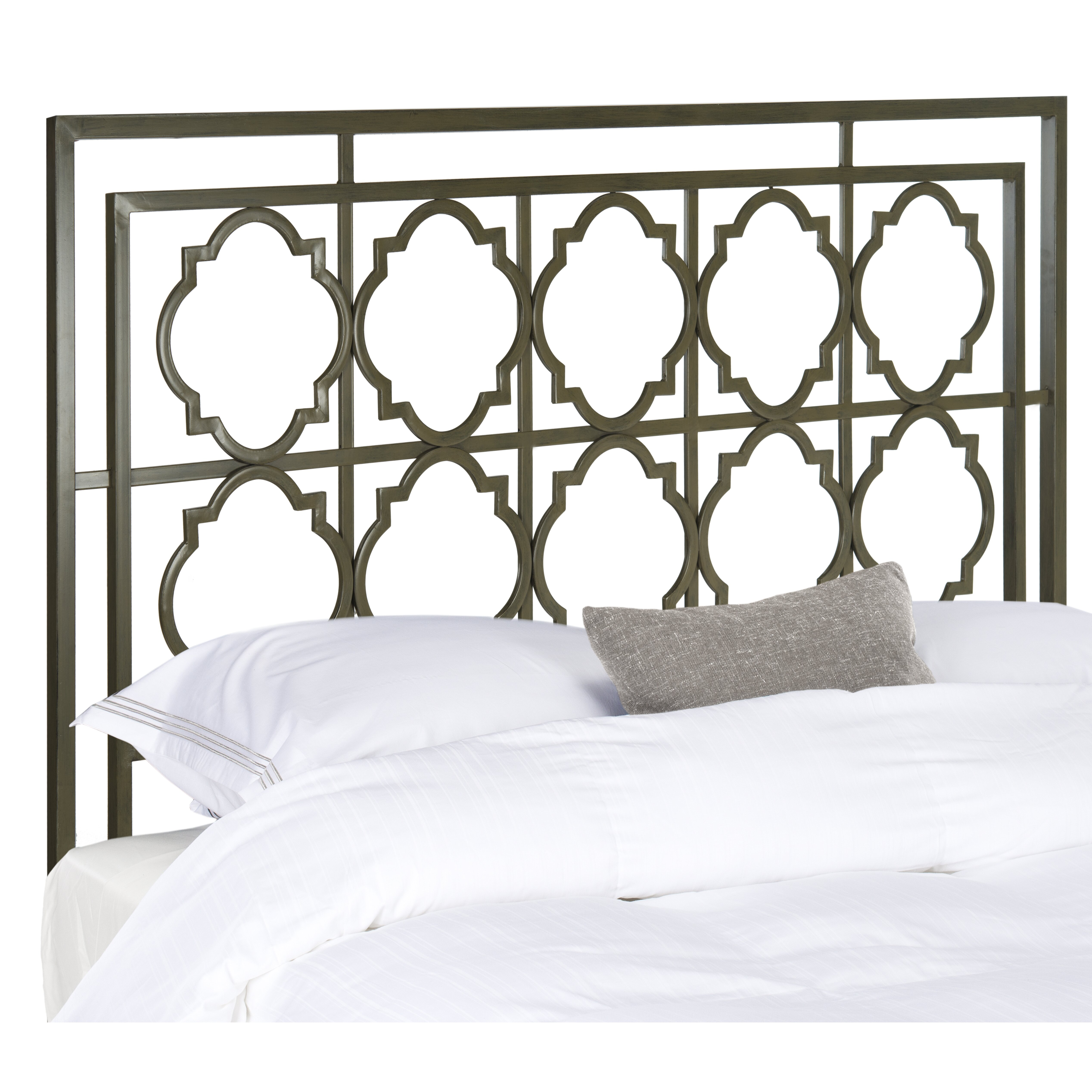Metal headboard bed frame - Mercury Row Reg Cepheus Metal Headboard