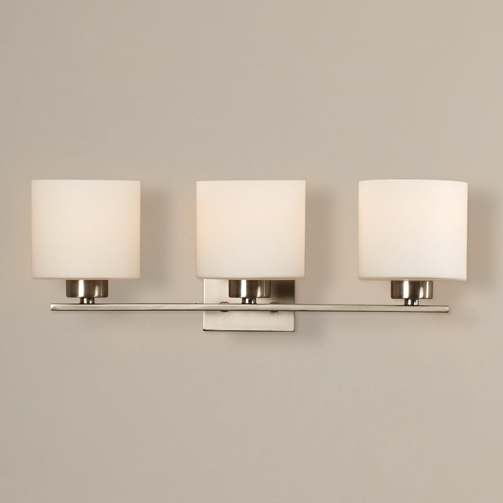 mercury row odom 3 light vanity light reviews wayfair