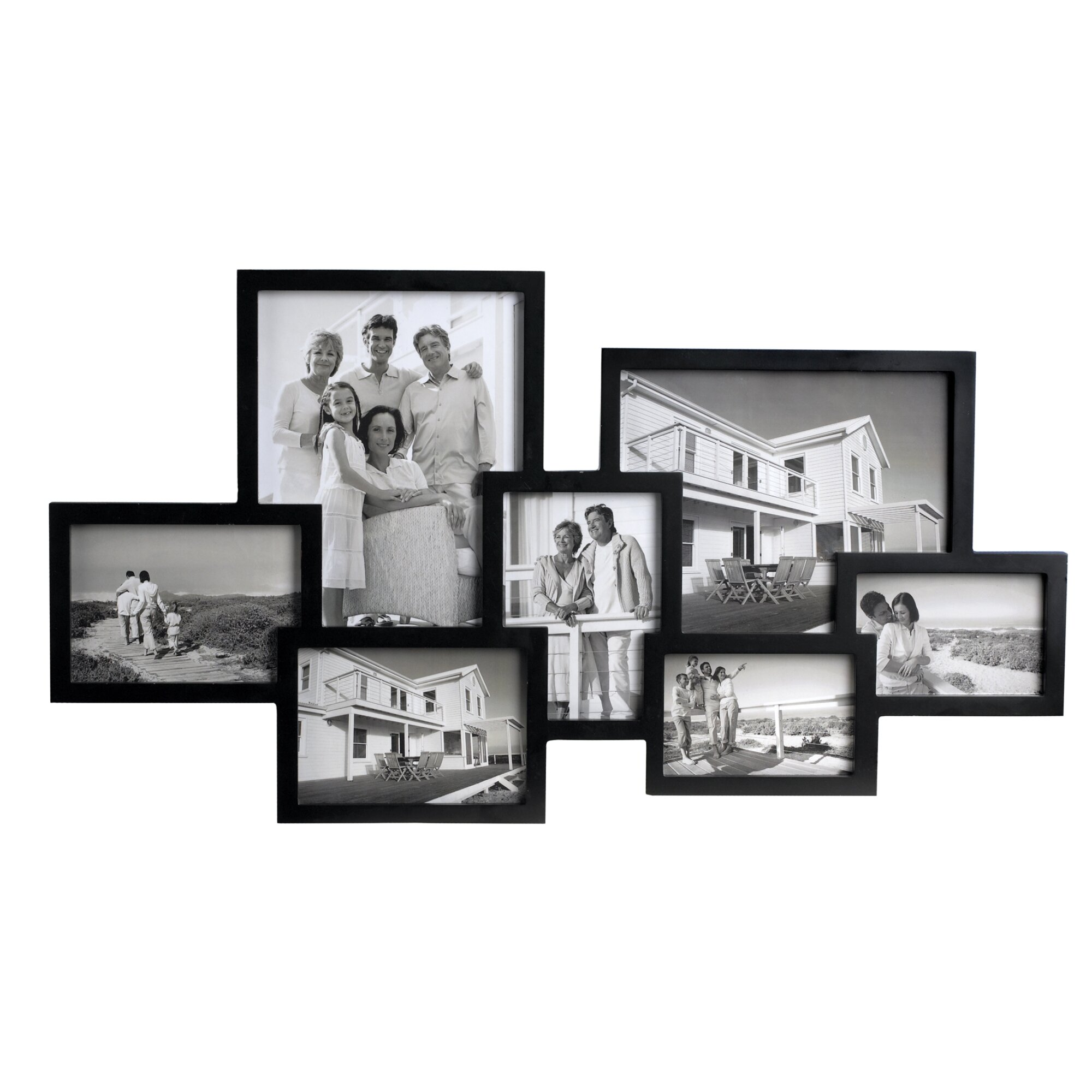 quick view 7 piece wall picture frame set