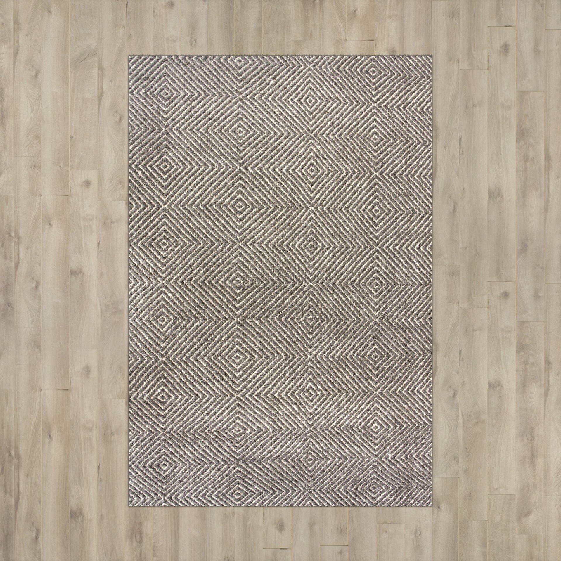 Mercury Rowu0026reg Marcelo Flat Woven Gray Area Rug