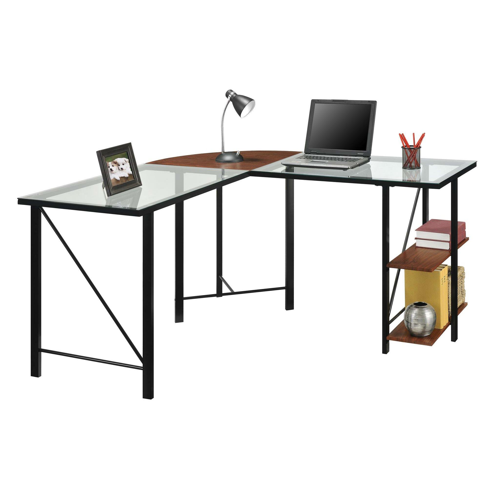 #9C792F Mercury Row Pando L Shape Writing Desk & Reviews Wayfair with 2000x2000 px of Brand New Floor Writing Desk 20002000 pic @ avoidforclosure.info