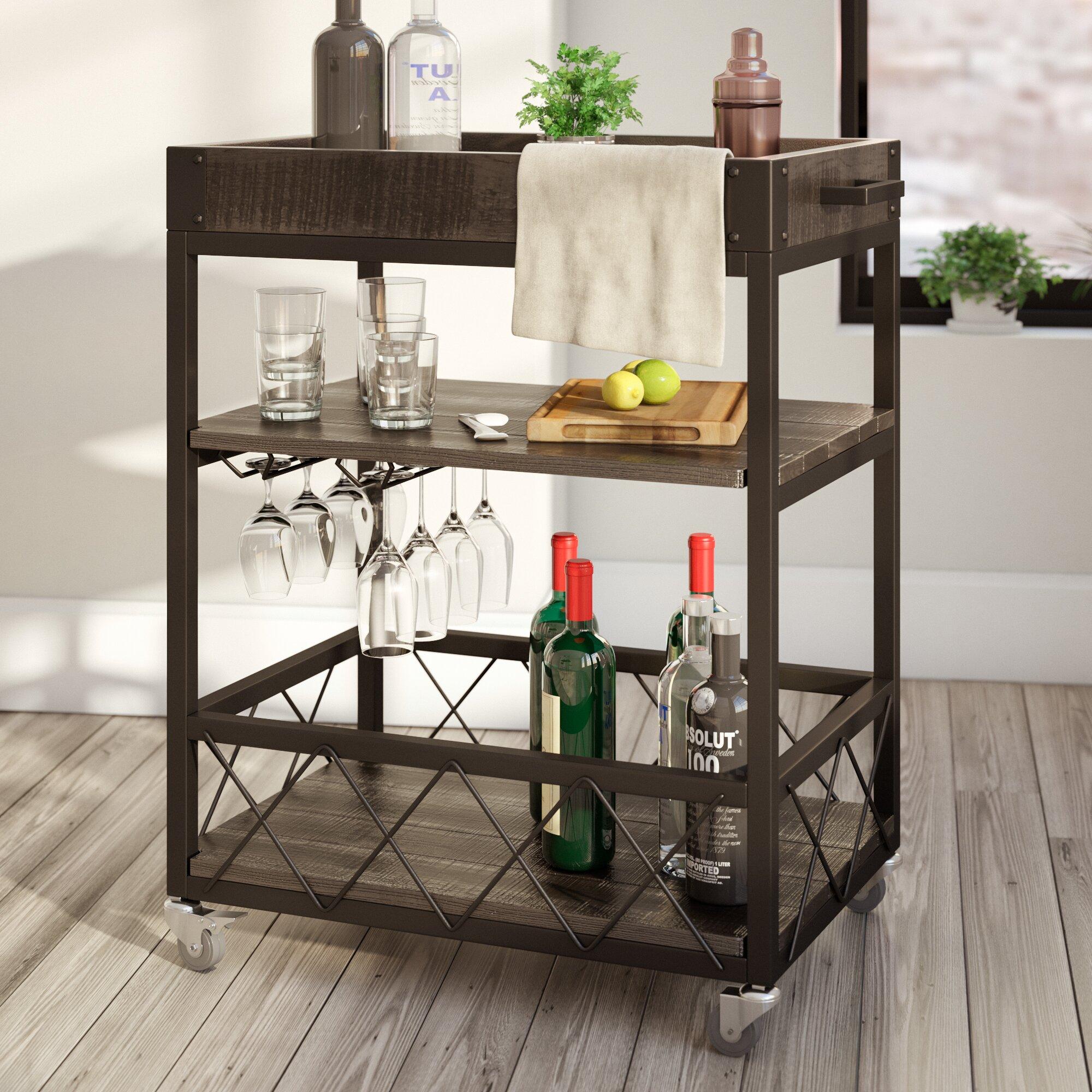 Wine Carts Cabinets Bar Carts Youll Love Wayfair
