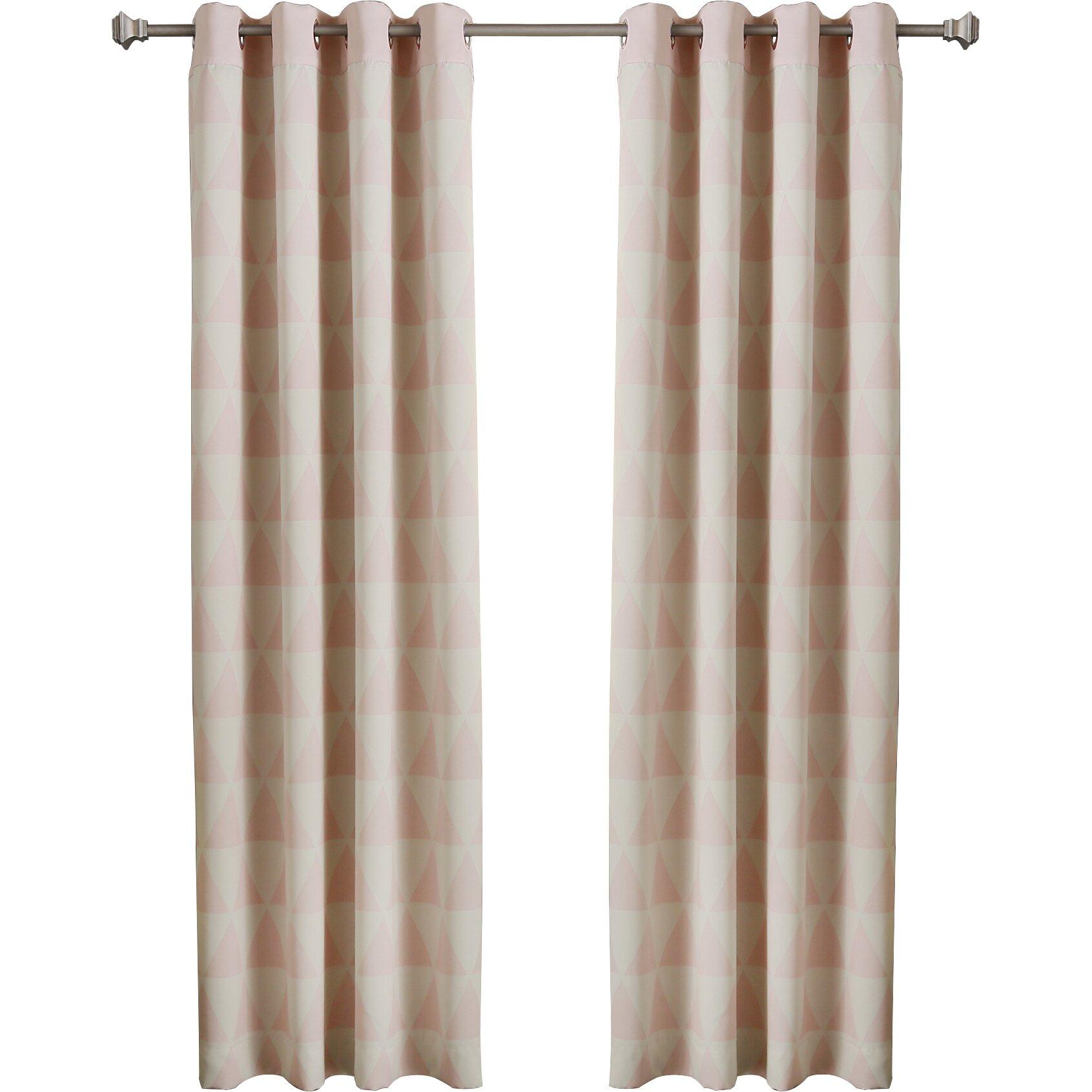 Best Home Fashion, Inc. Scandinavian Room Darkening Thermal Curtain
