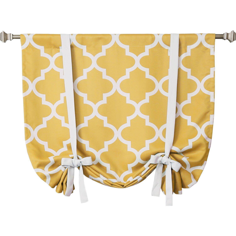 Best Home Fashion Inc Moroccan Print Room Darkening Tie
